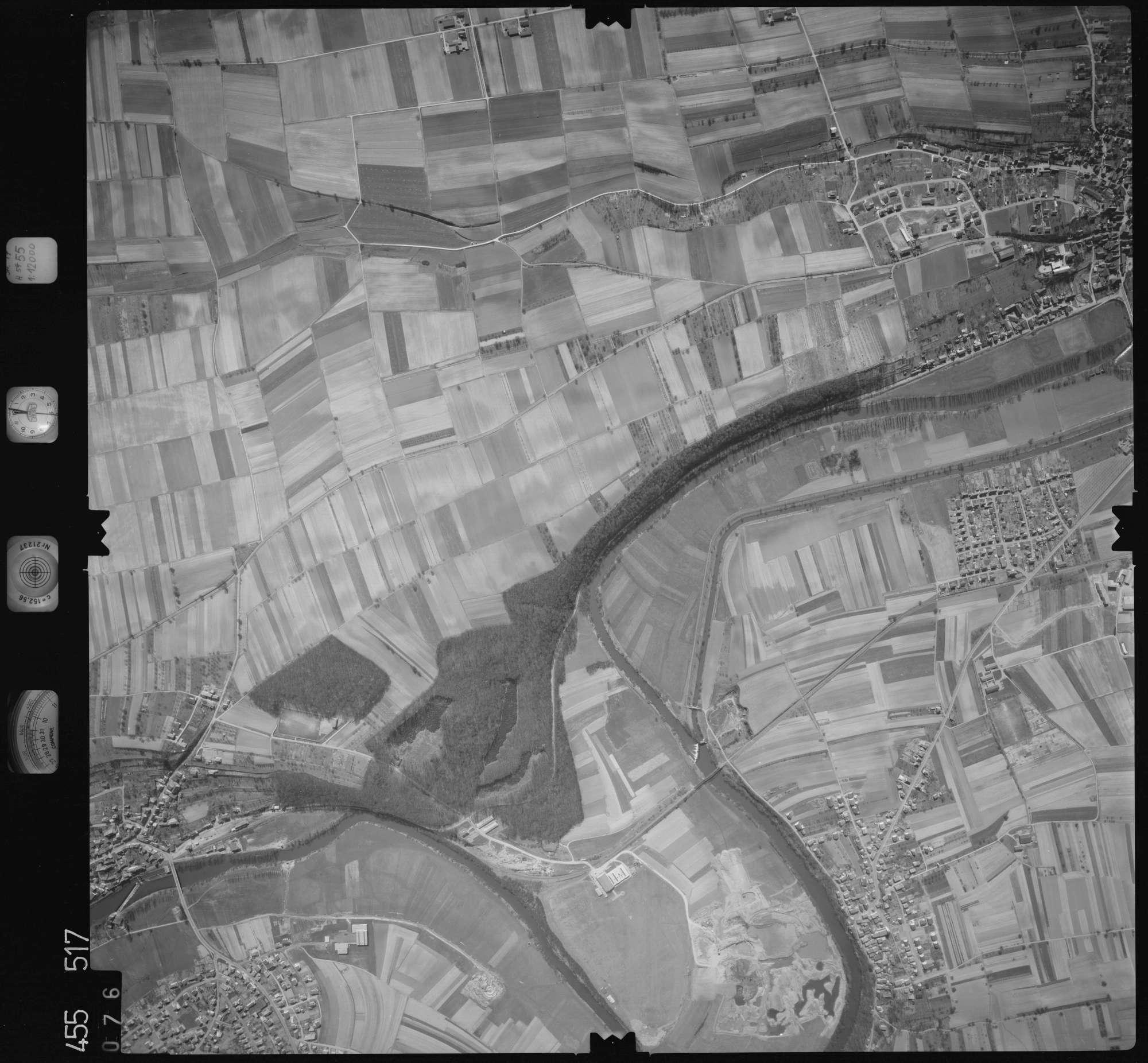 Luftbild: Film 17 Bildnr. 76, Bild 1