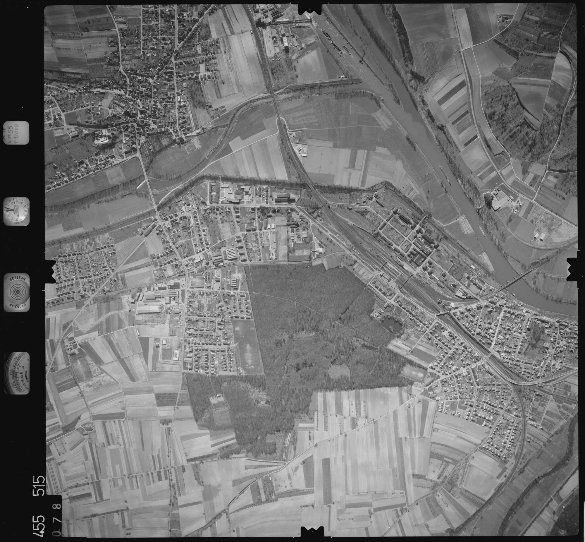 Luftbild: Film 17 Bildnr. 78, Bild 1