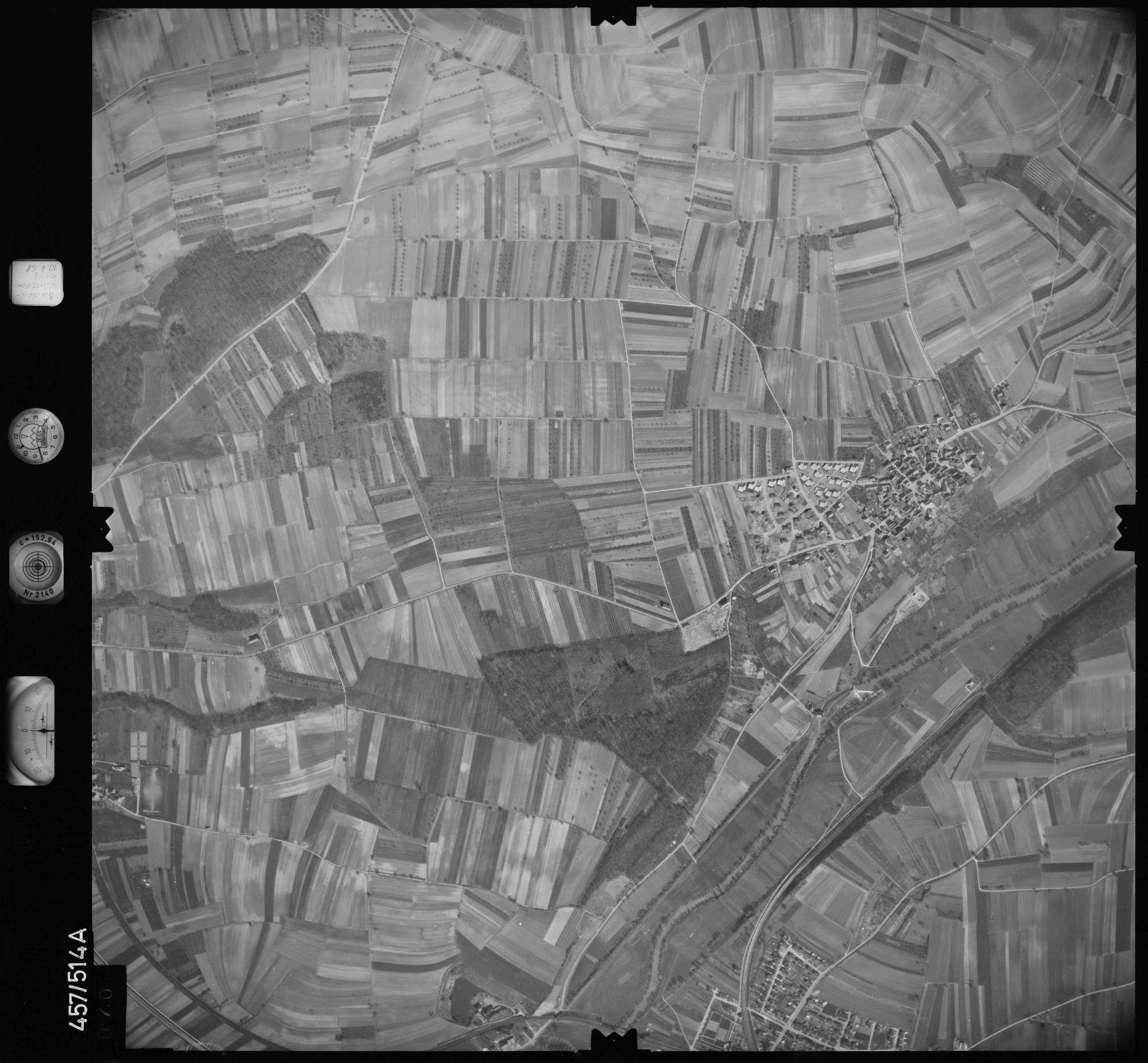 Luftbild: Film 104 Bildnr. 70, Bild 1