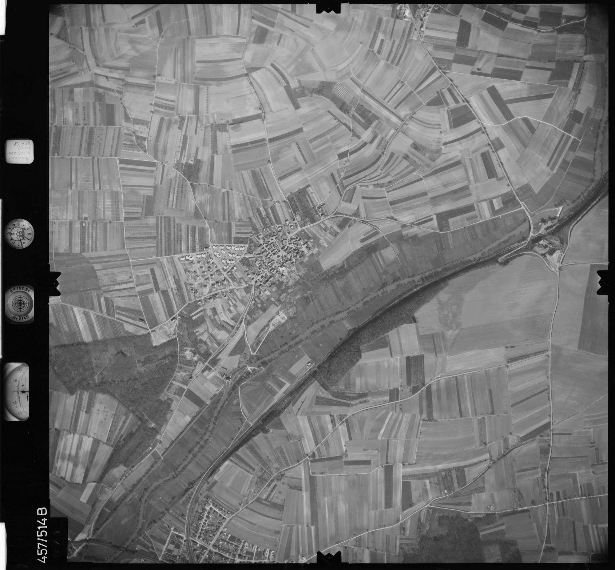 Luftbild: Film 104 Bildnr. 71, Bild 1