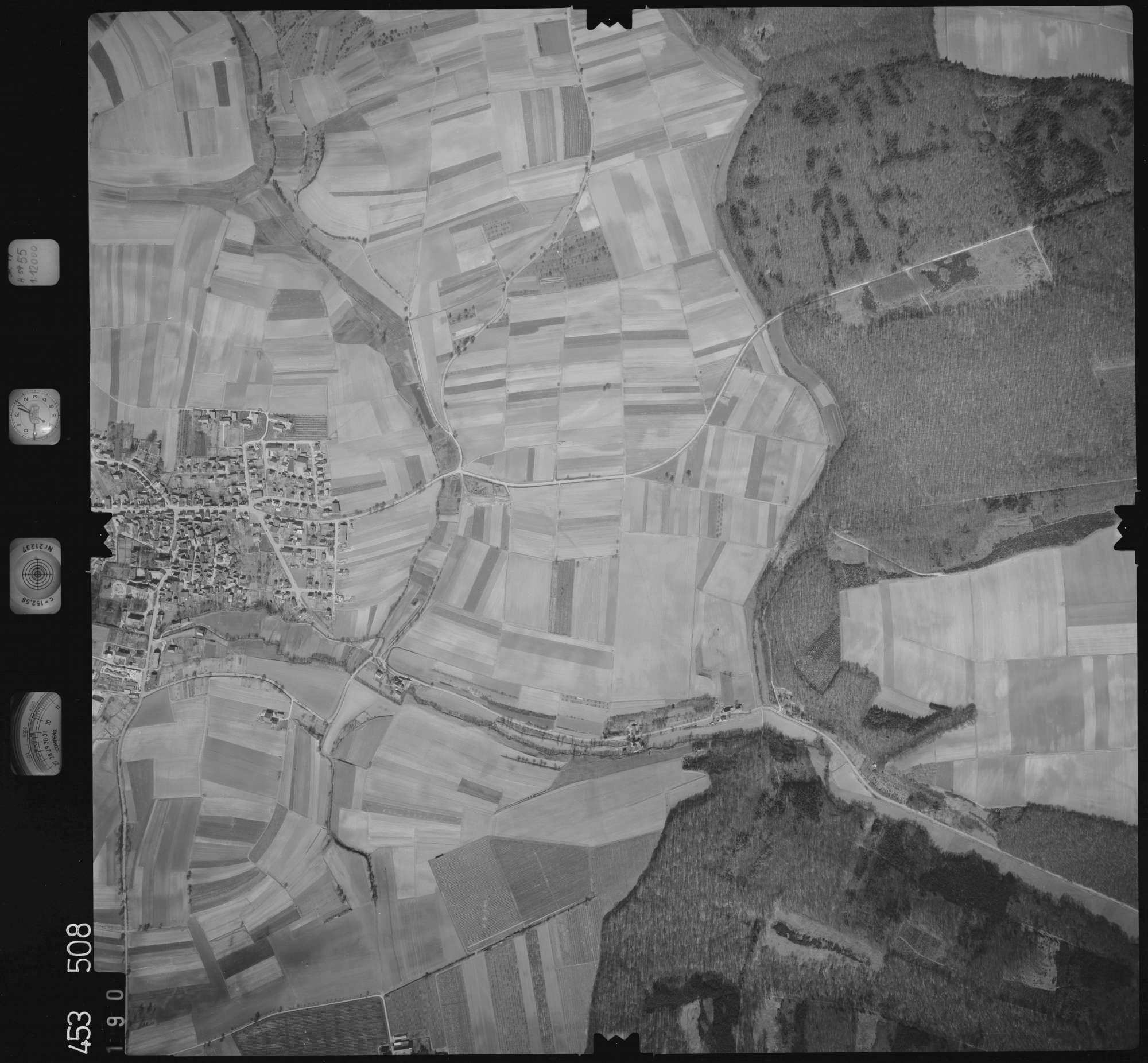 Luftbild: Film 16 Bildnr. 190, Bild 1
