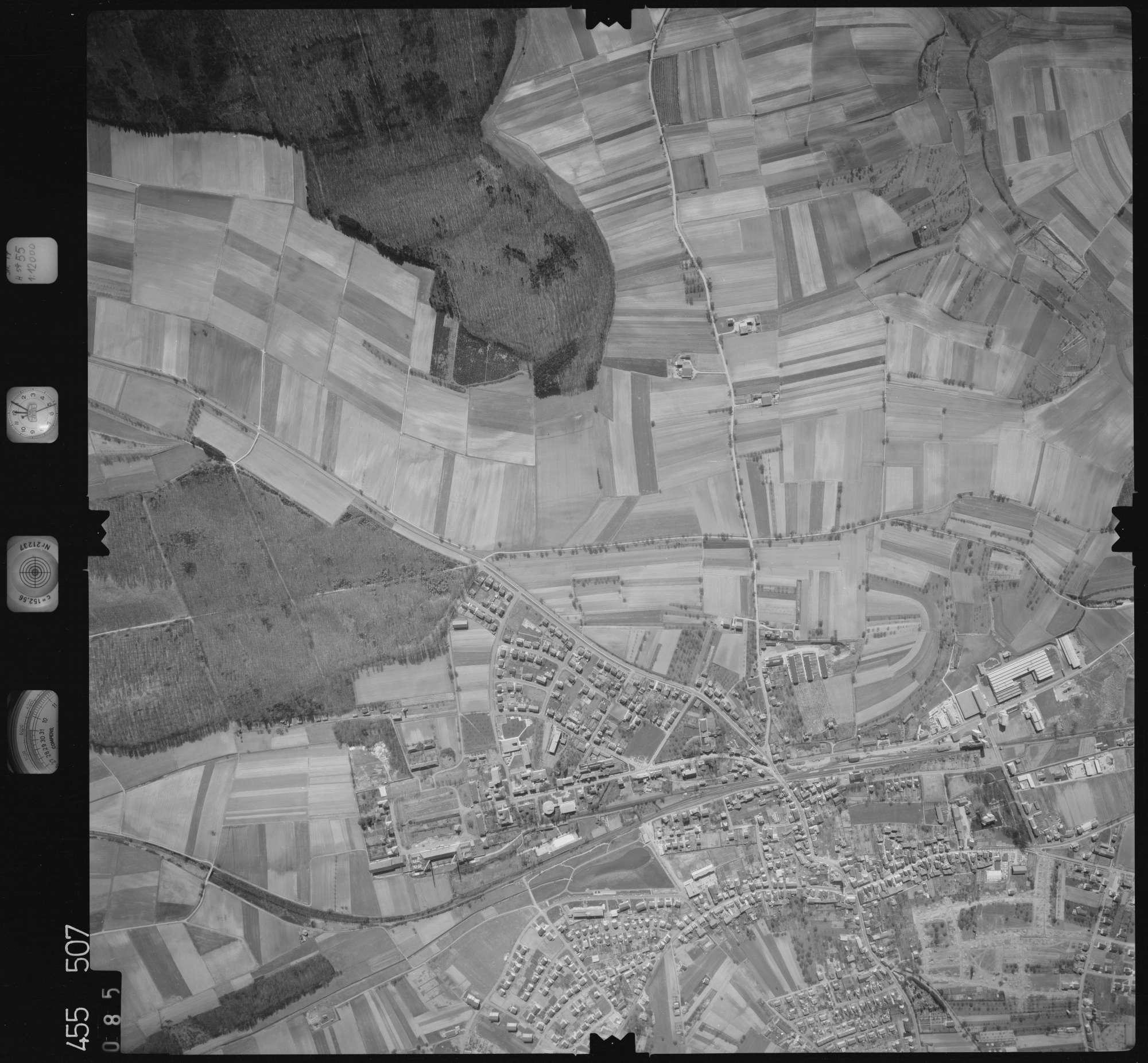 Luftbild: Film 17 Bildnr. 85, Bild 1