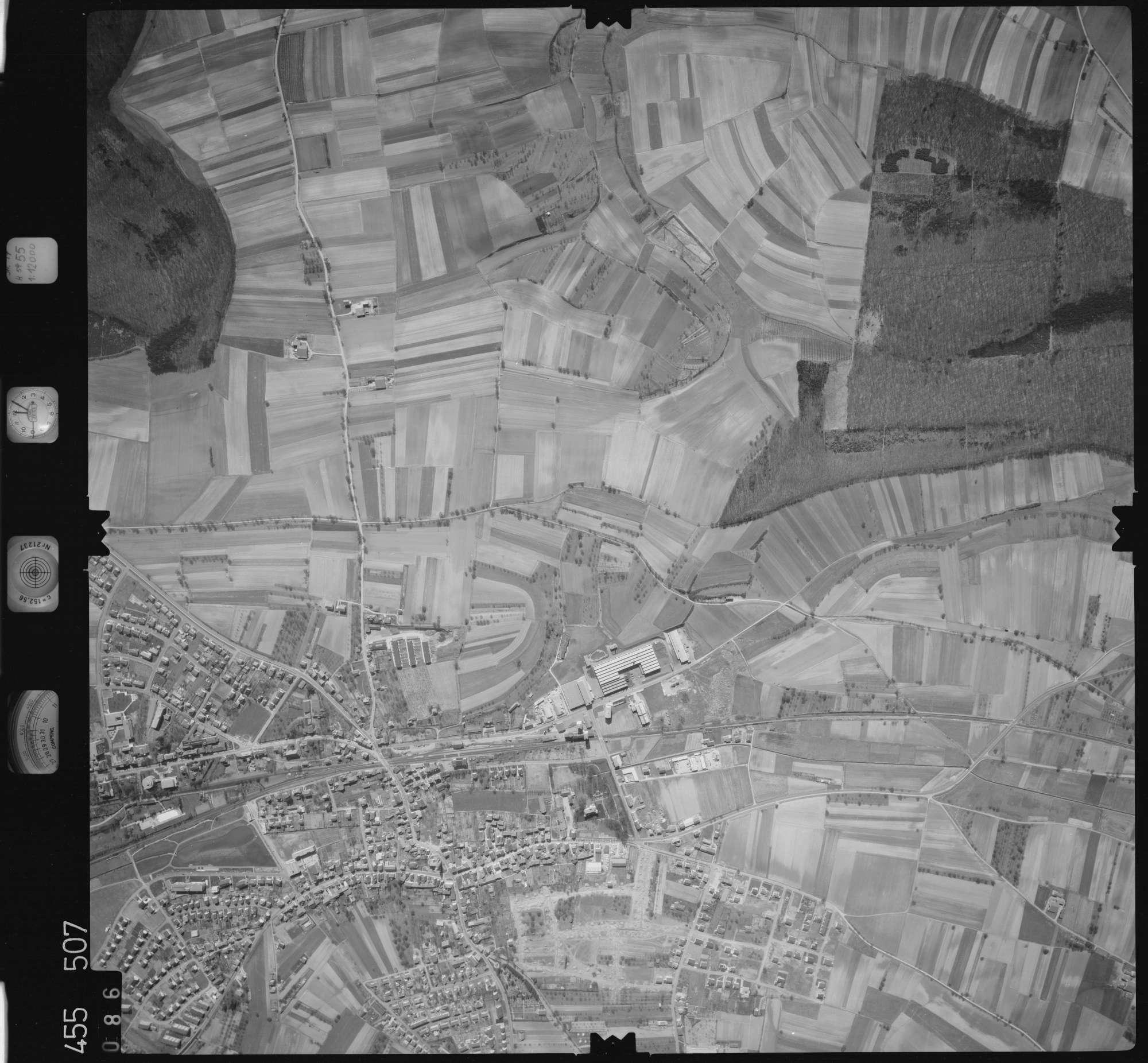 Luftbild: Film 17 Bildnr. 86, Bild 1