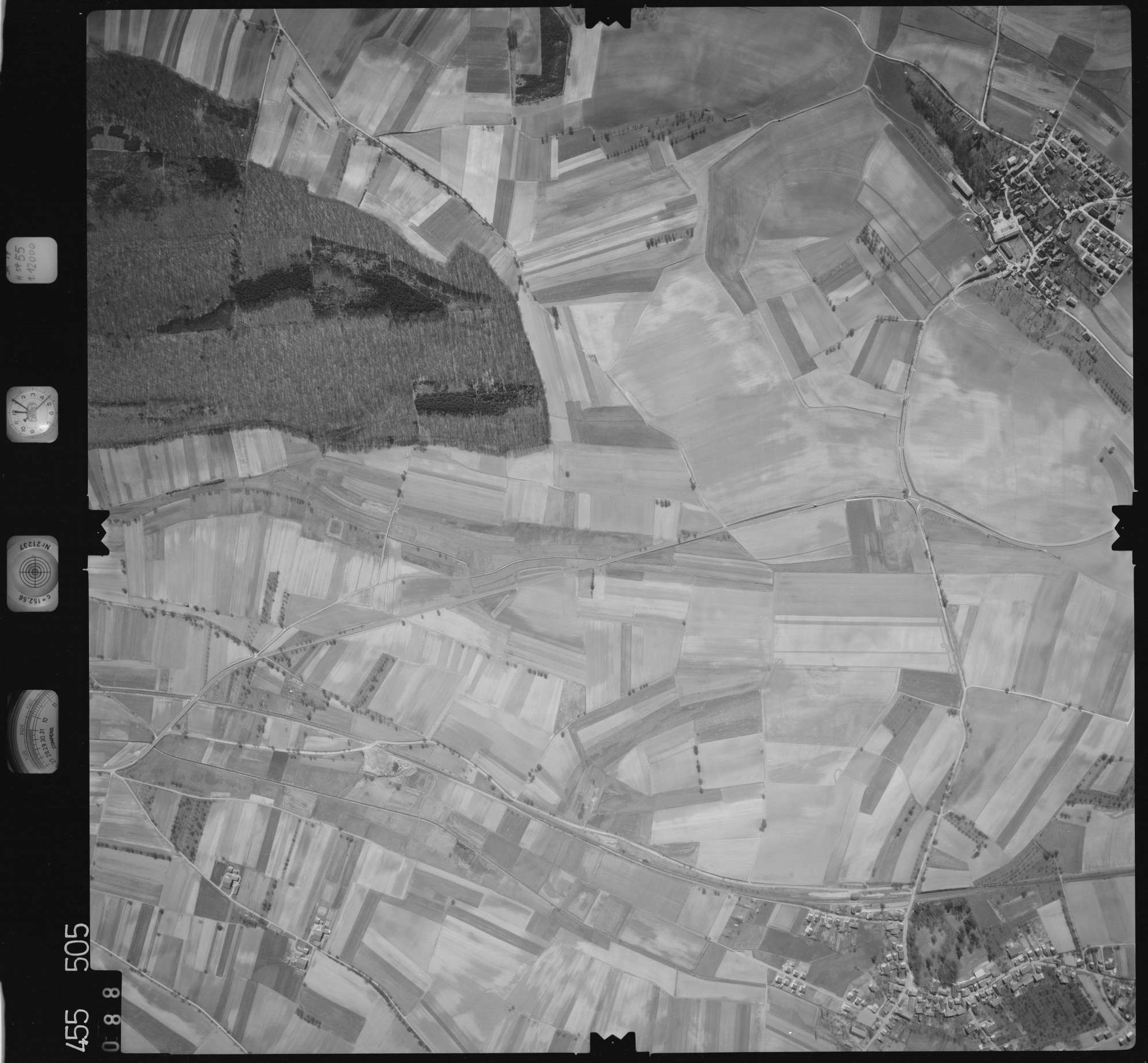 Luftbild: Film 17 Bildnr. 88, Bild 1