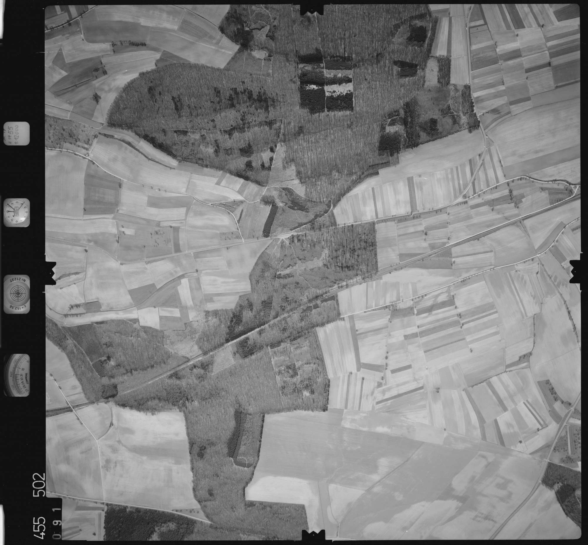 Luftbild: Film 17 Bildnr. 91, Bild 1