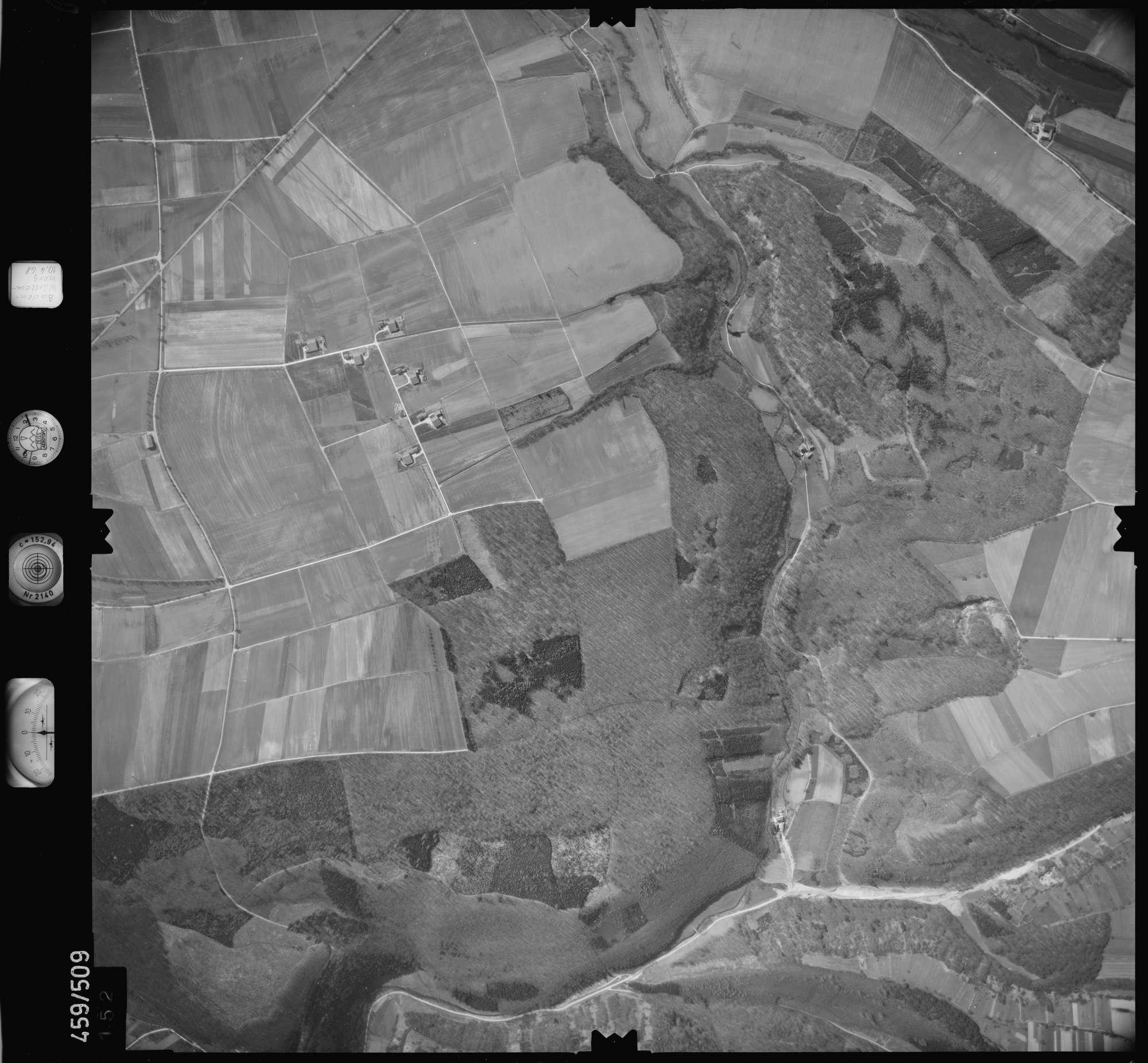 Luftbild: Film 103 Bildnr. 152, Bild 1