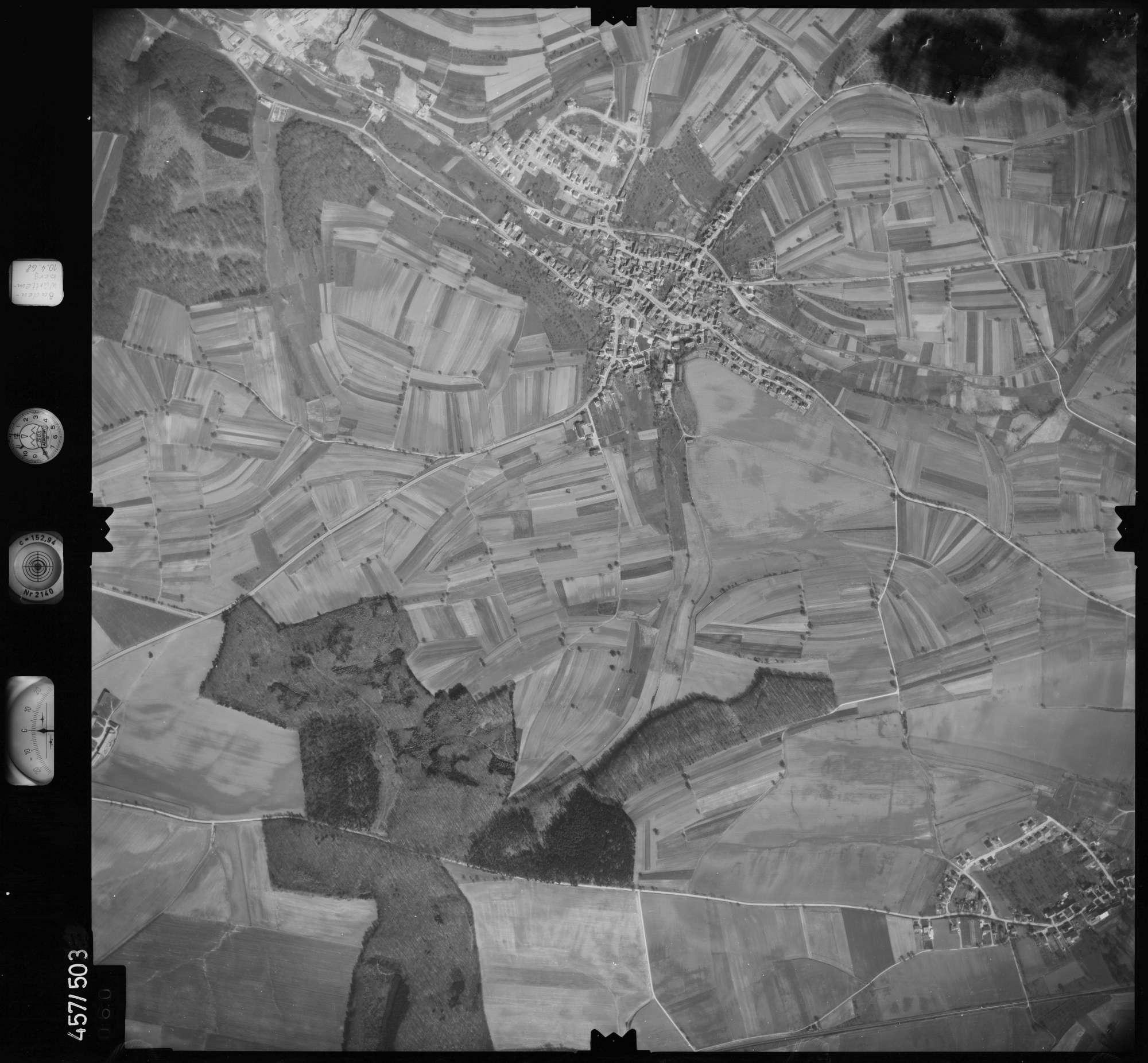 Luftbild: Film 104 Bildnr. 60, Bild 1