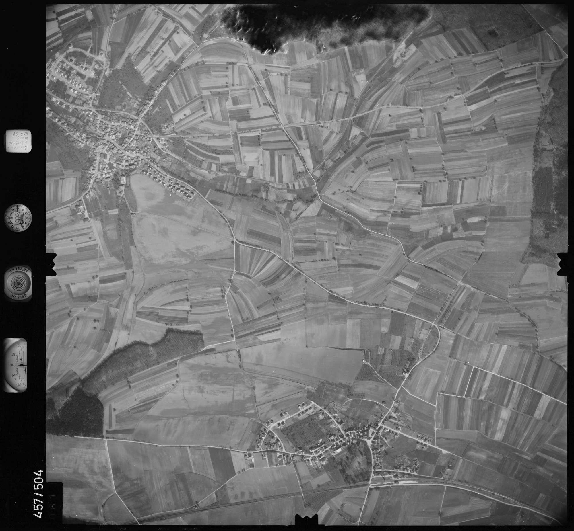 Luftbild: Film 104 Bildnr. 61, Bild 1