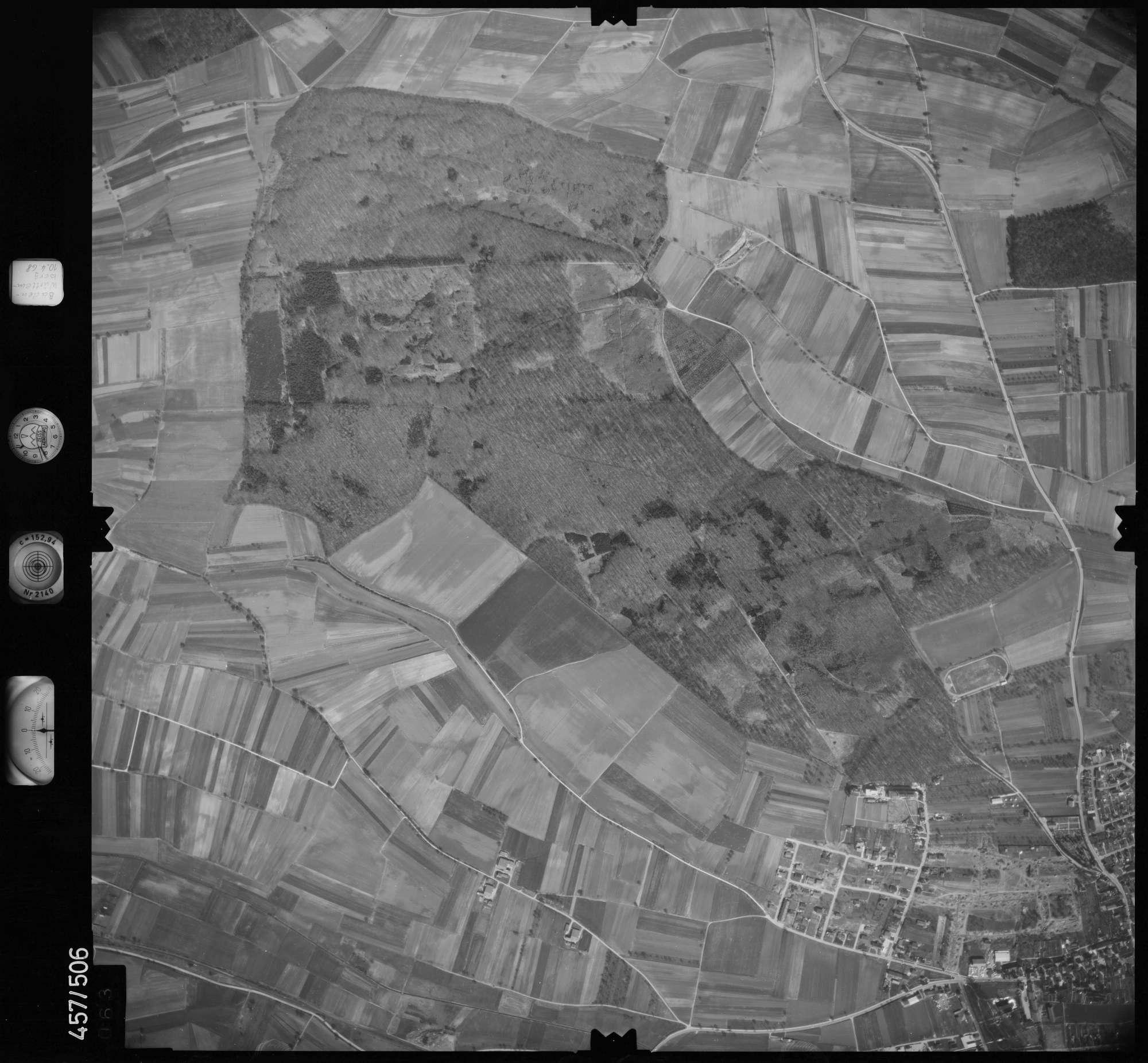 Luftbild: Film 104 Bildnr. 63, Bild 1