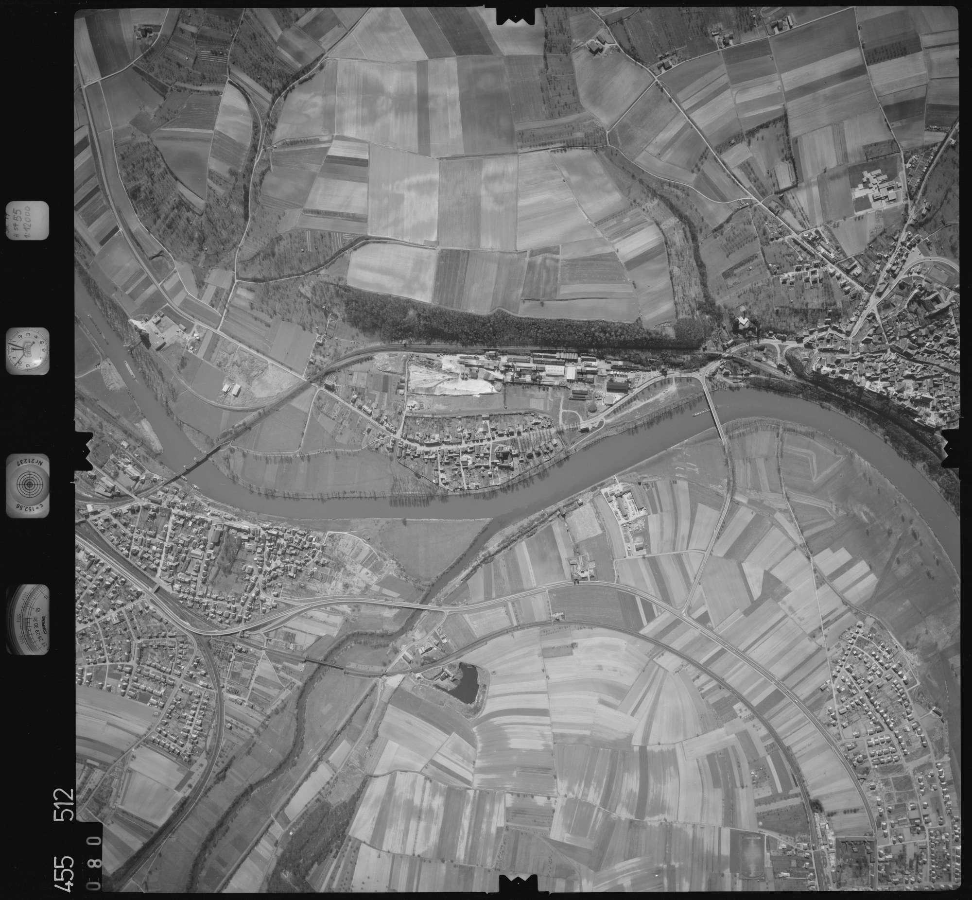 Luftbild: Film 17 Bildnr. 80, Bild 1
