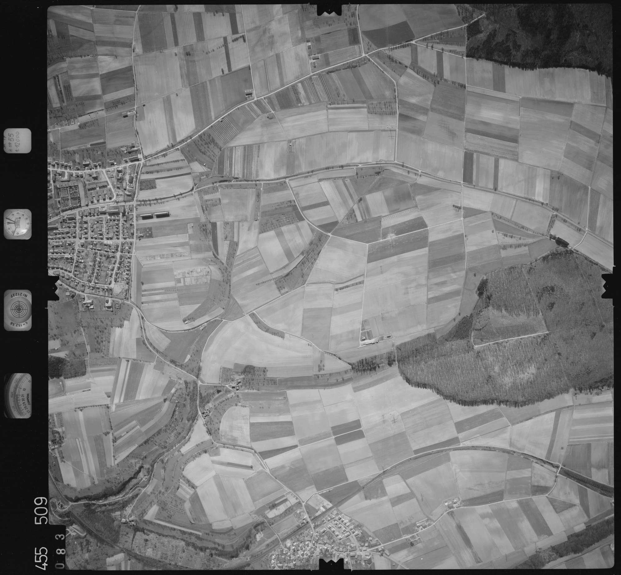 Luftbild: Film 17 Bildnr. 83, Bild 1