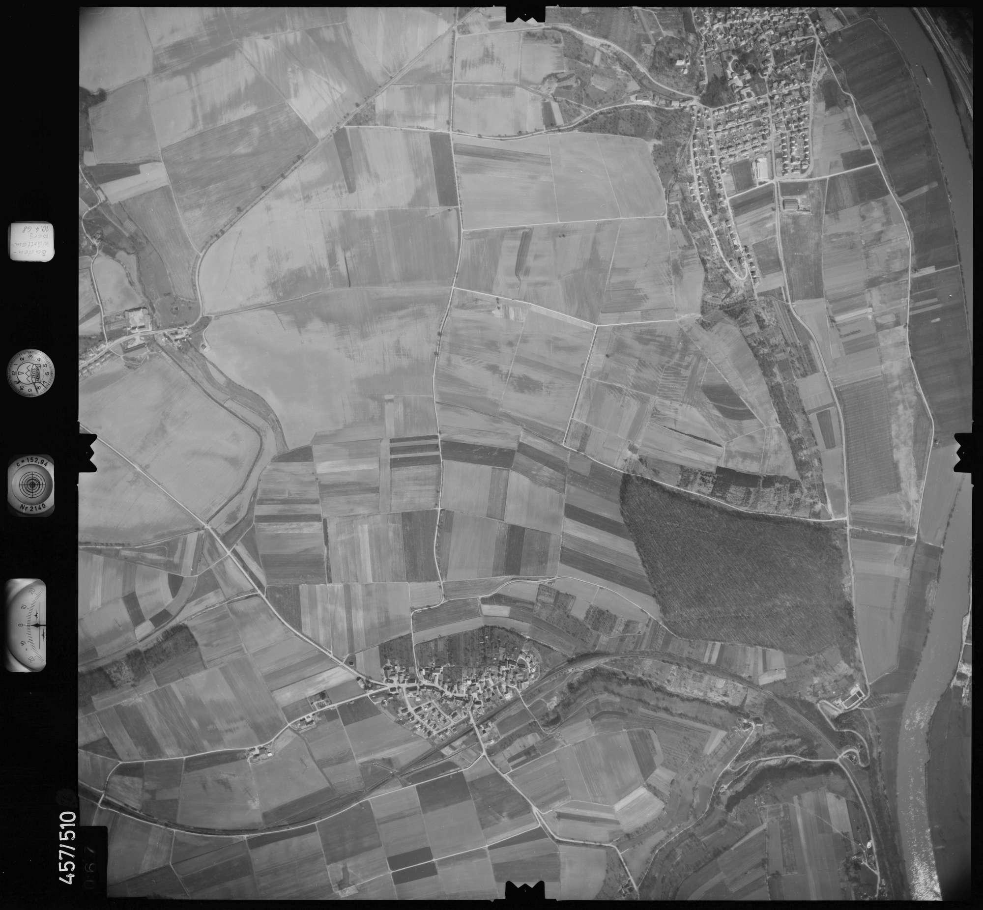 Luftbild: Film 104 Bildnr. 67, Bild 1