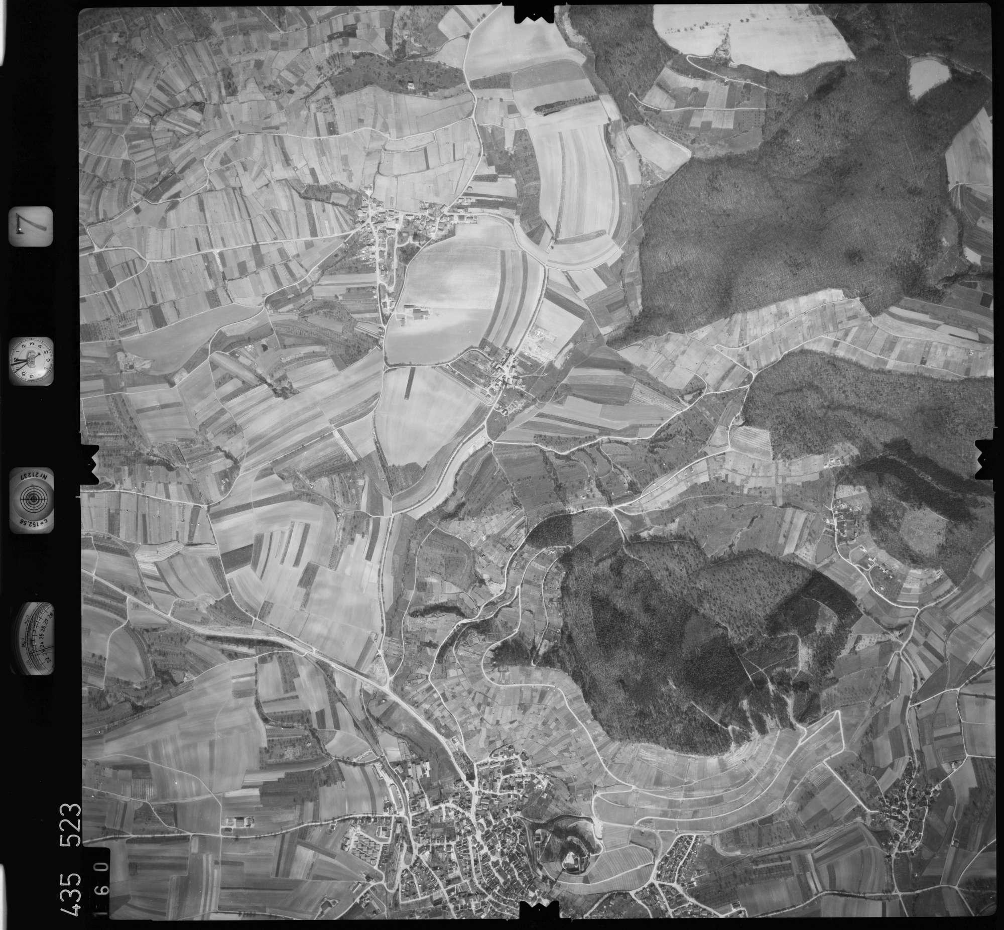 Luftbild: Film 7 Bildnr. 160, Bild 1