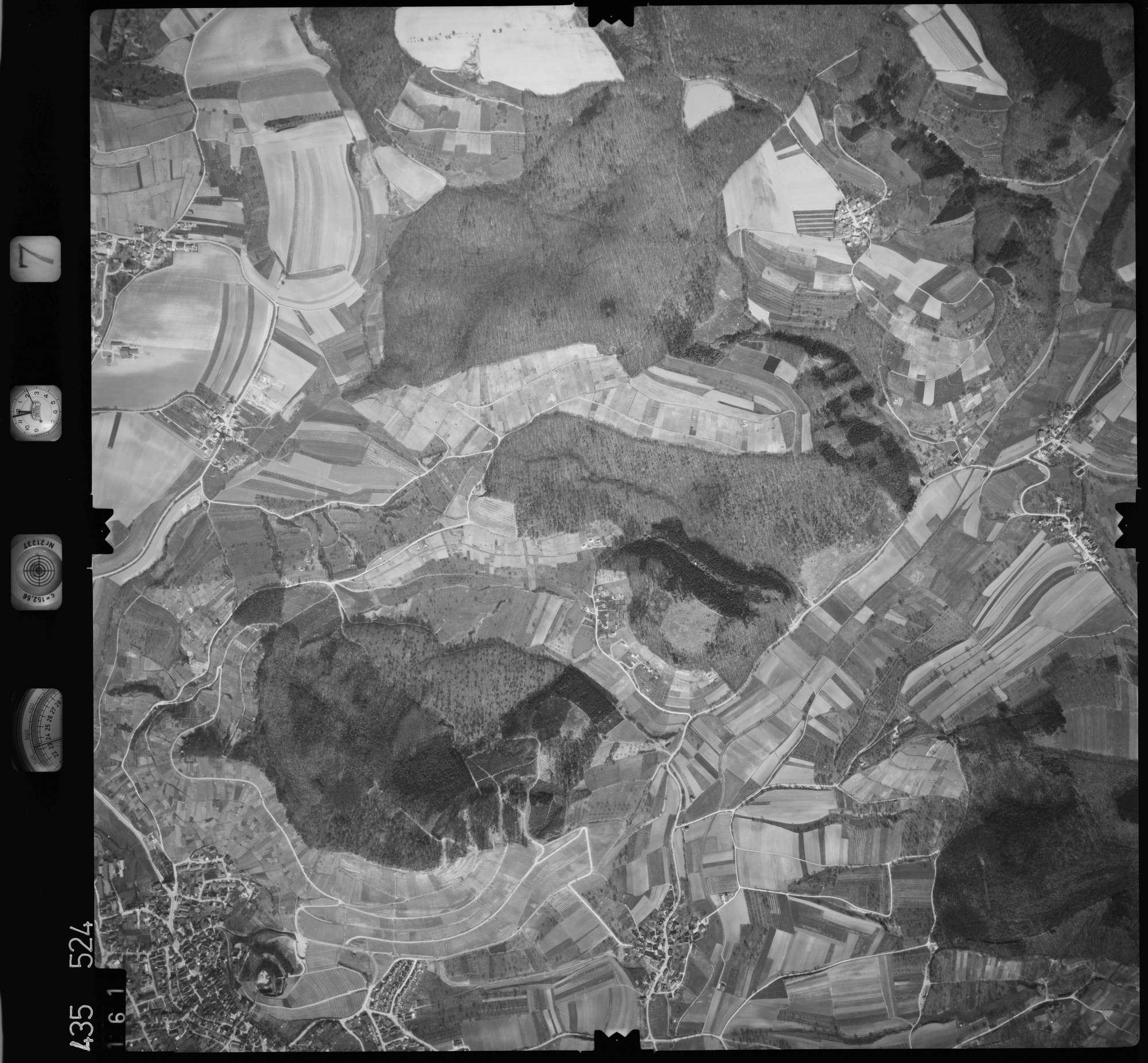 Luftbild: Film 7 Bildnr. 161, Bild 1