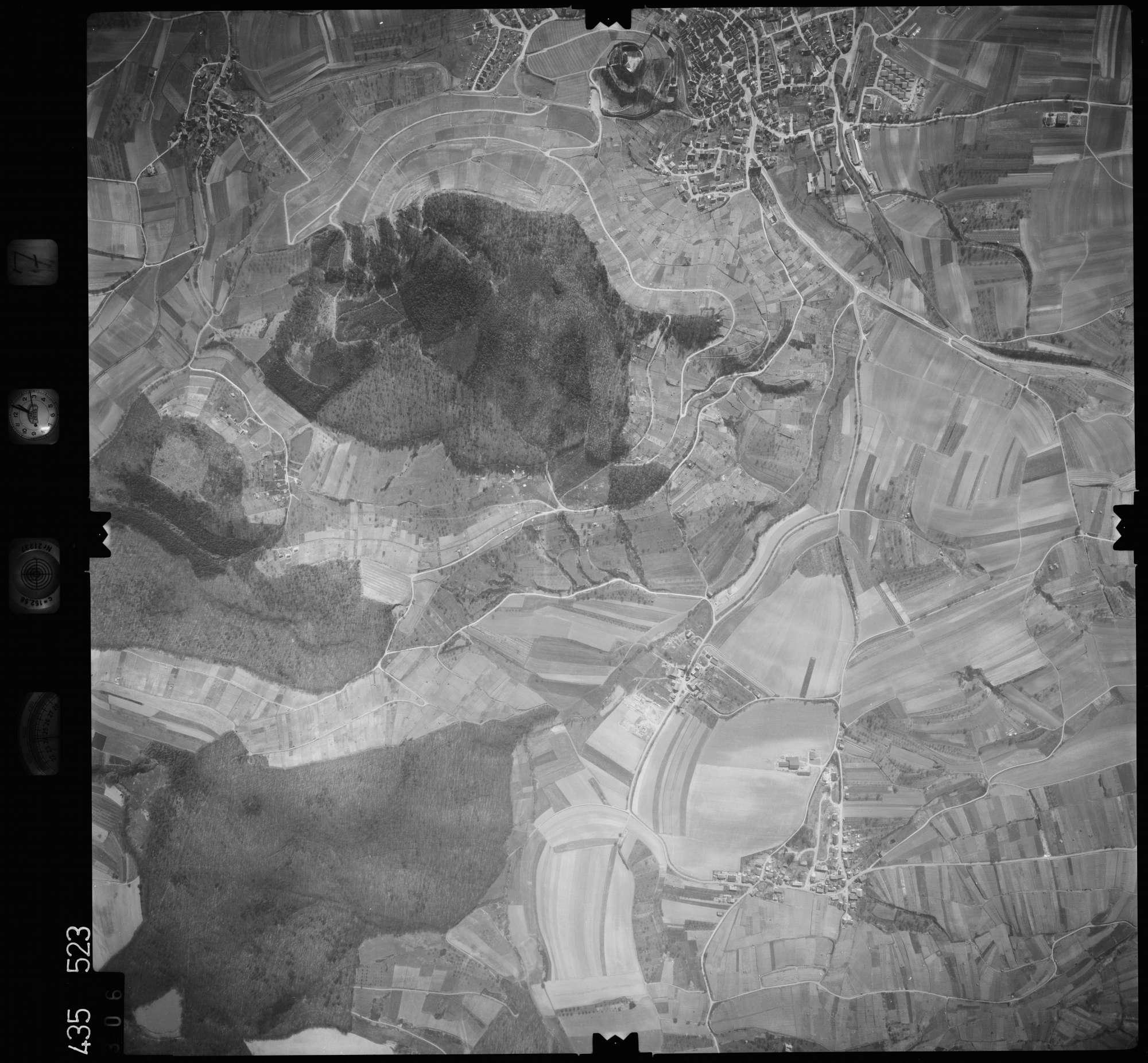 Luftbild: Film 7 Bildnr. 306, Bild 1