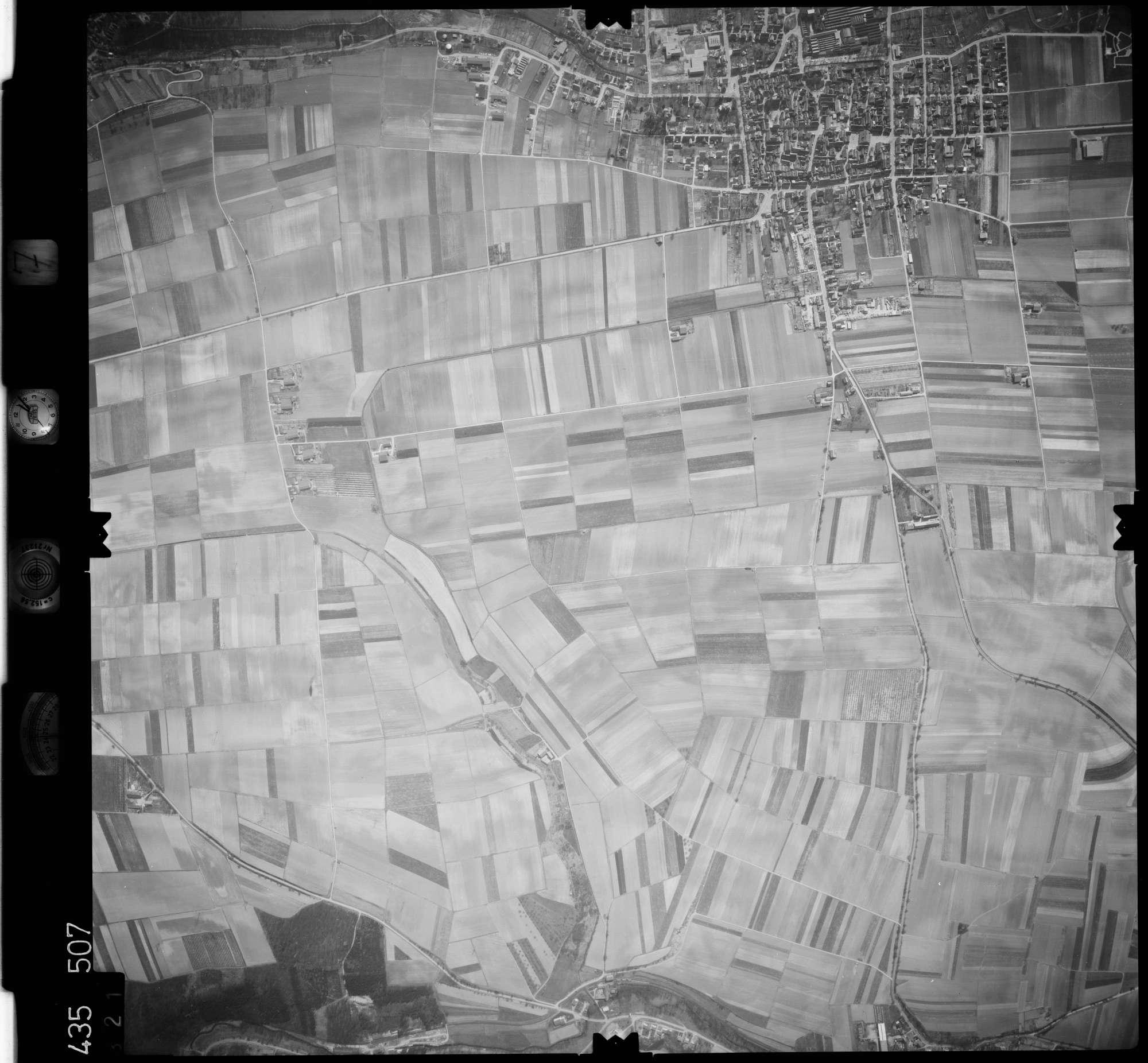 Luftbild: Film 7 Bildnr. 321, Bild 1