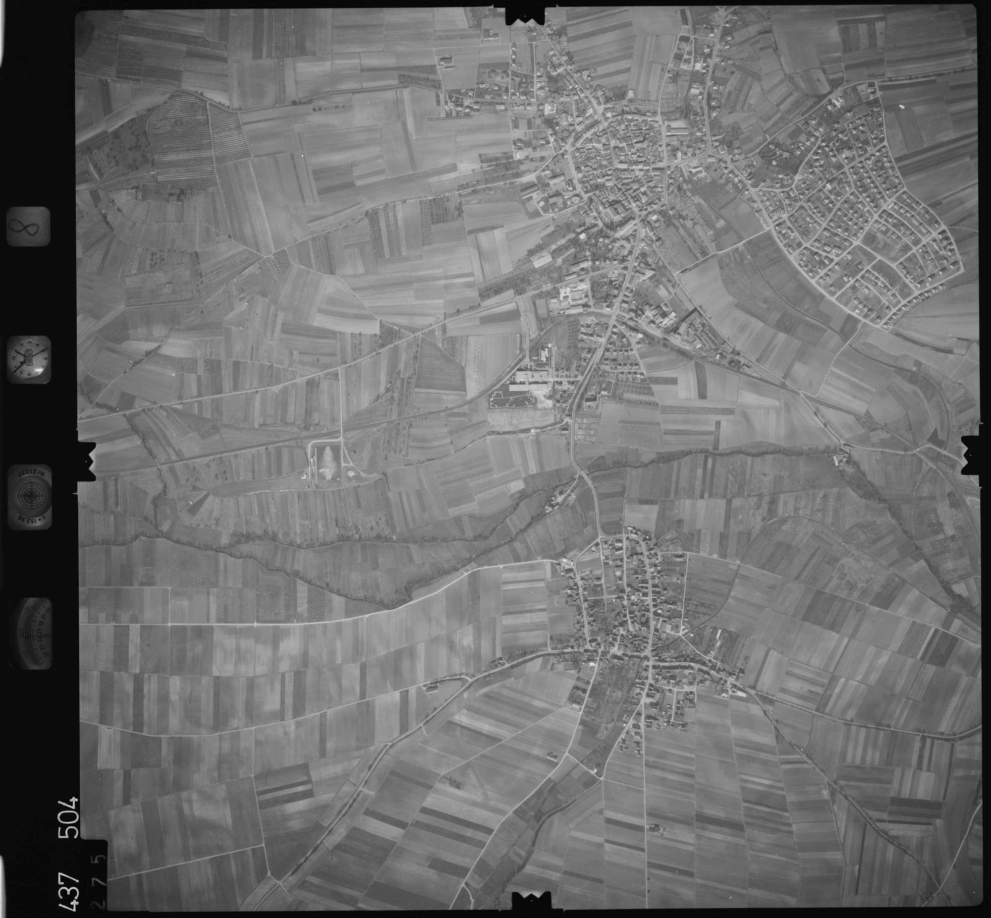 Luftbild: Film 8 Bildnr. 275, Bild 1
