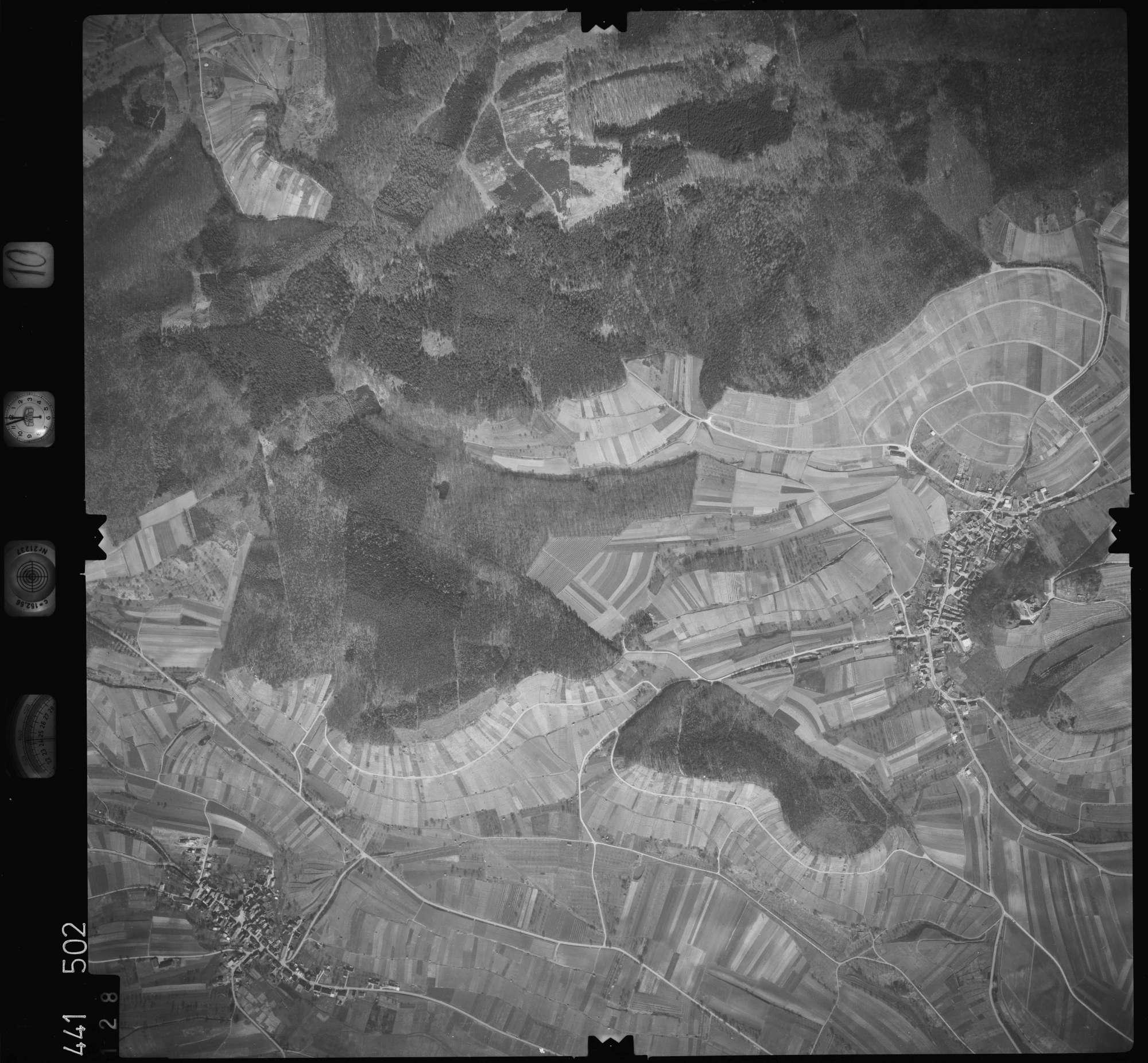 Luftbild: Film 10 Bildnr. 128, Bild 1