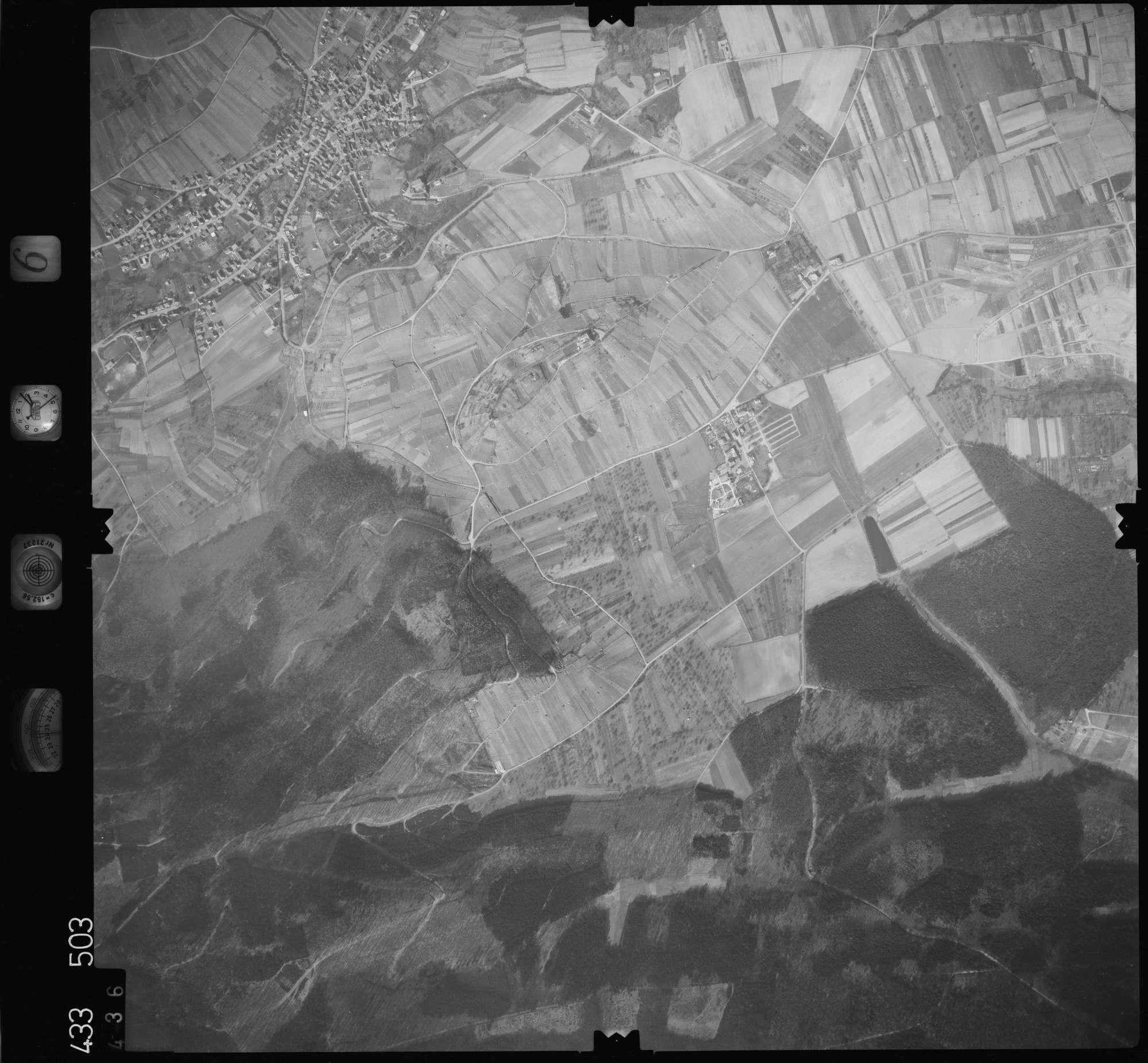 Luftbild: Film 6 Bildnr. 436, Bild 1