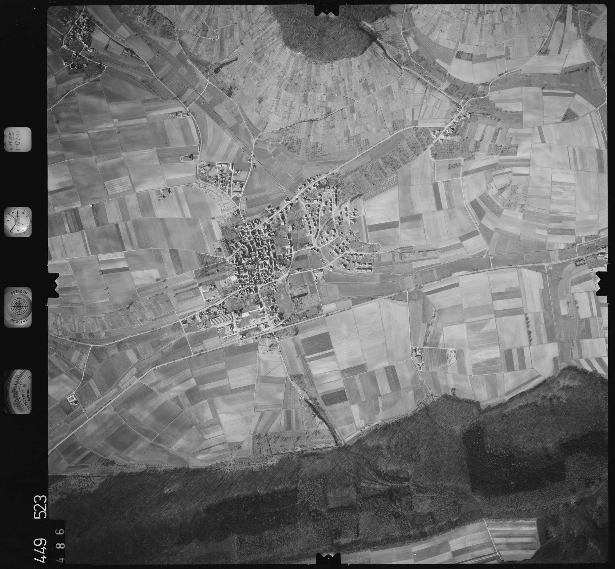 Luftbild: Film 14 Bildnr. 486, Bild 1