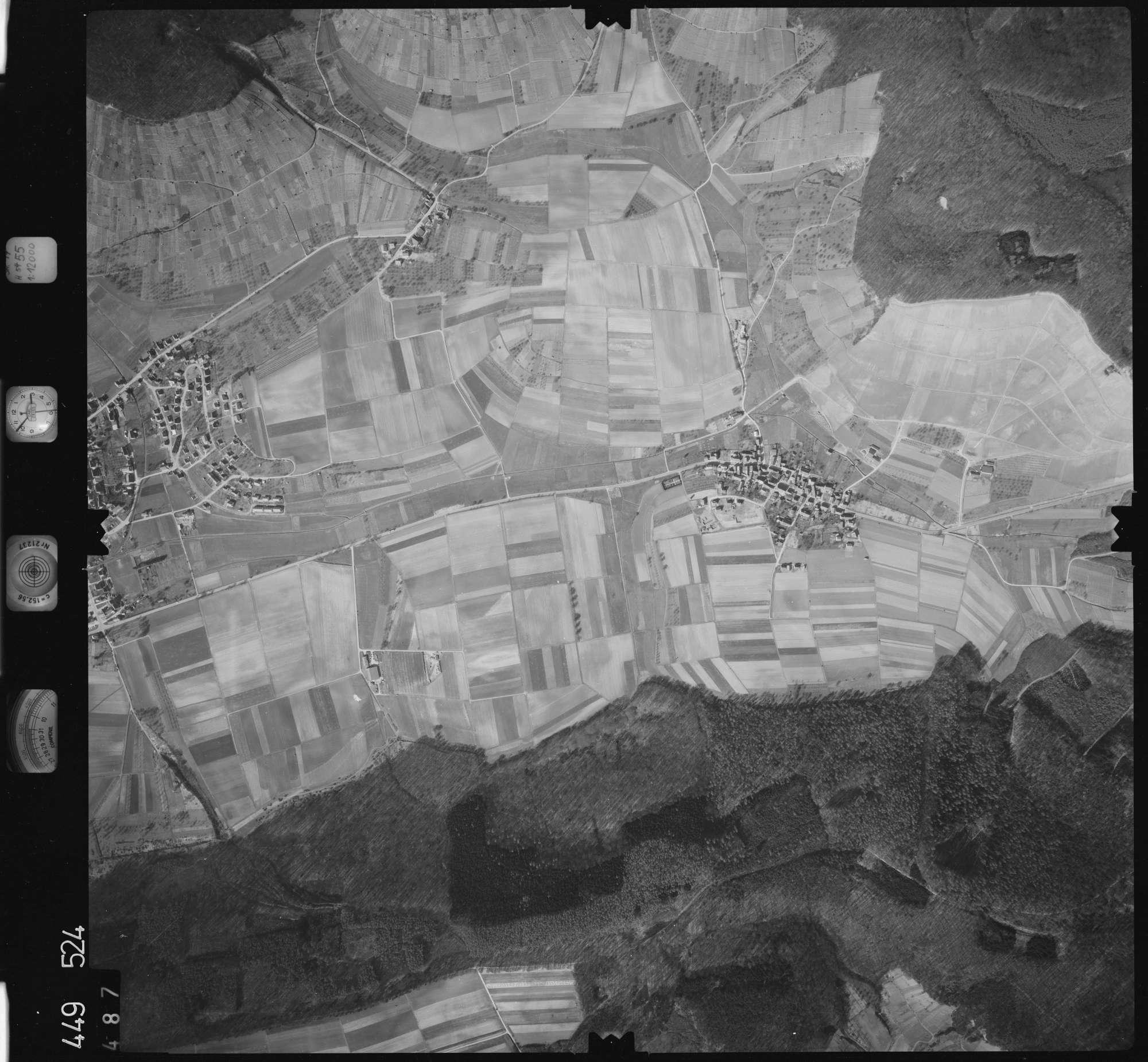 Luftbild: Film 14 Bildnr. 487, Bild 1