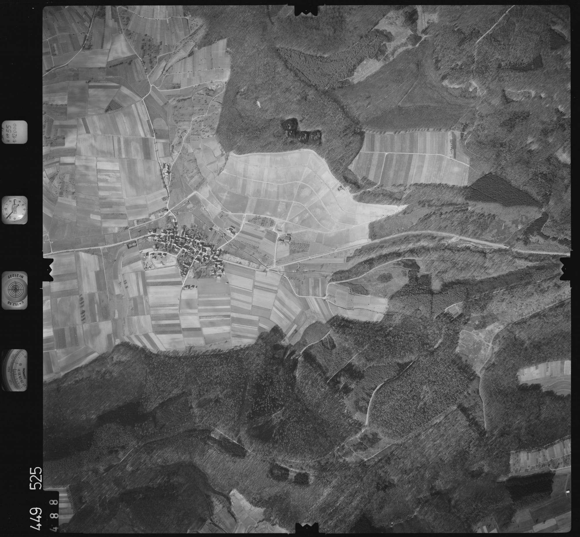 Luftbild: Film 14 Bildnr. 488, Bild 1