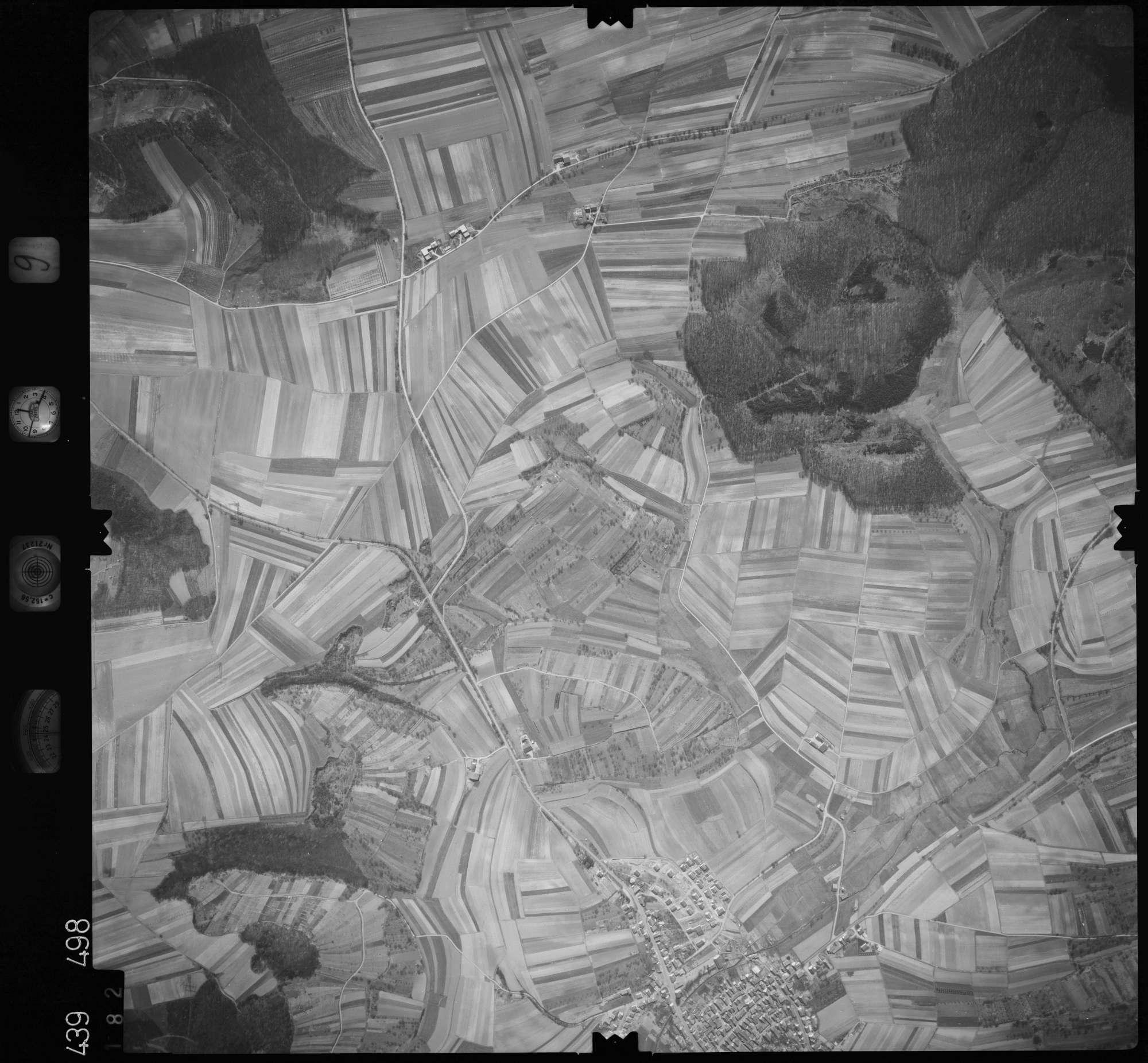 Luftbild: Film 9 Bildnr. 182, Bild 1