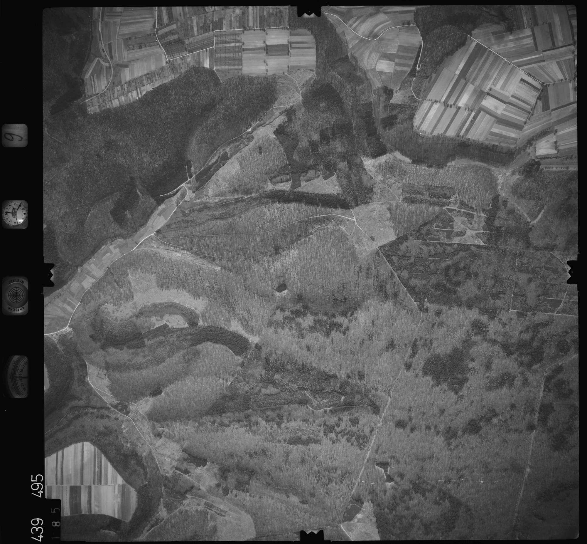 Luftbild: Film 9 Bildnr. 185, Bild 1