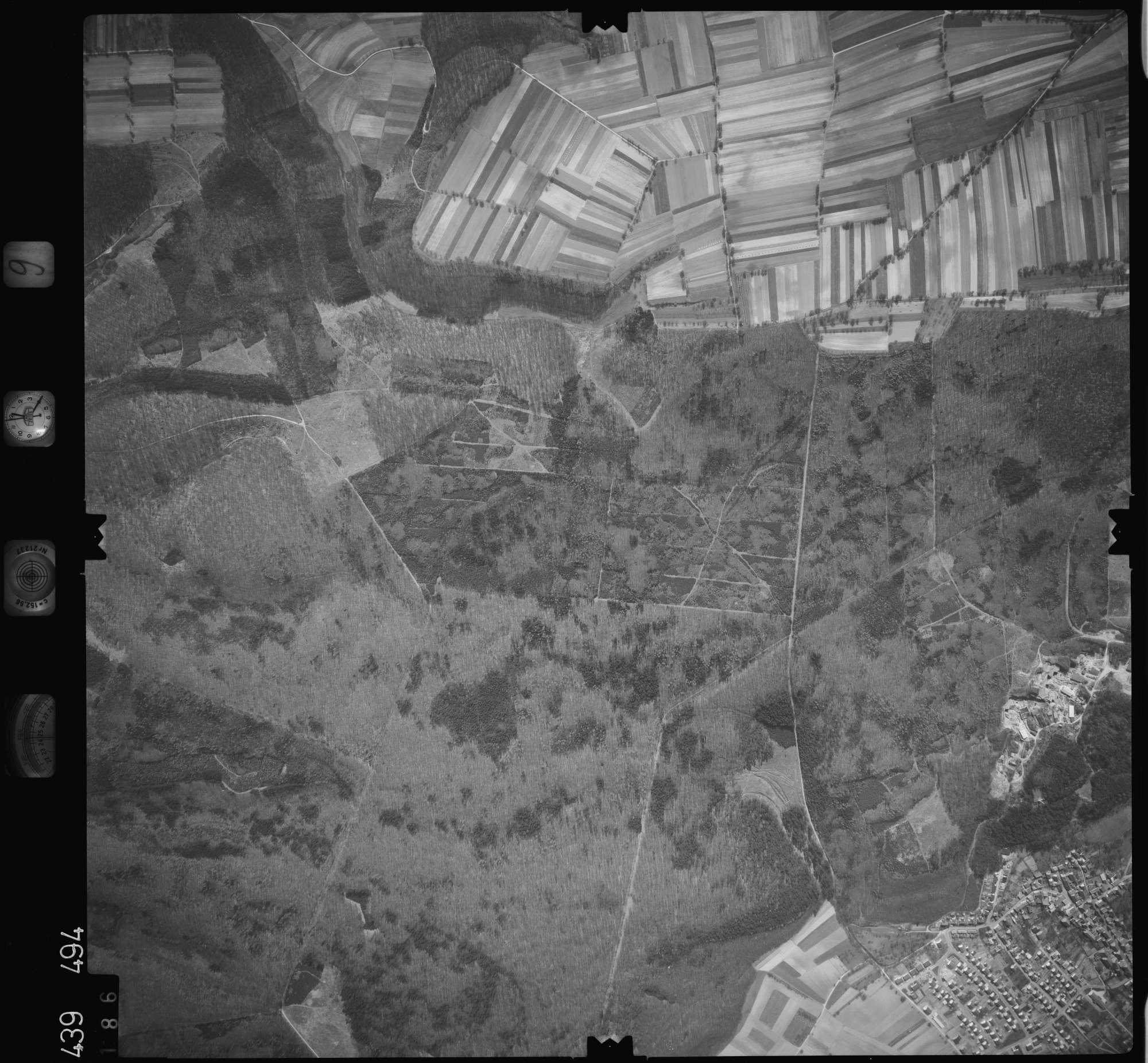 Luftbild: Film 9 Bildnr. 186, Bild 1