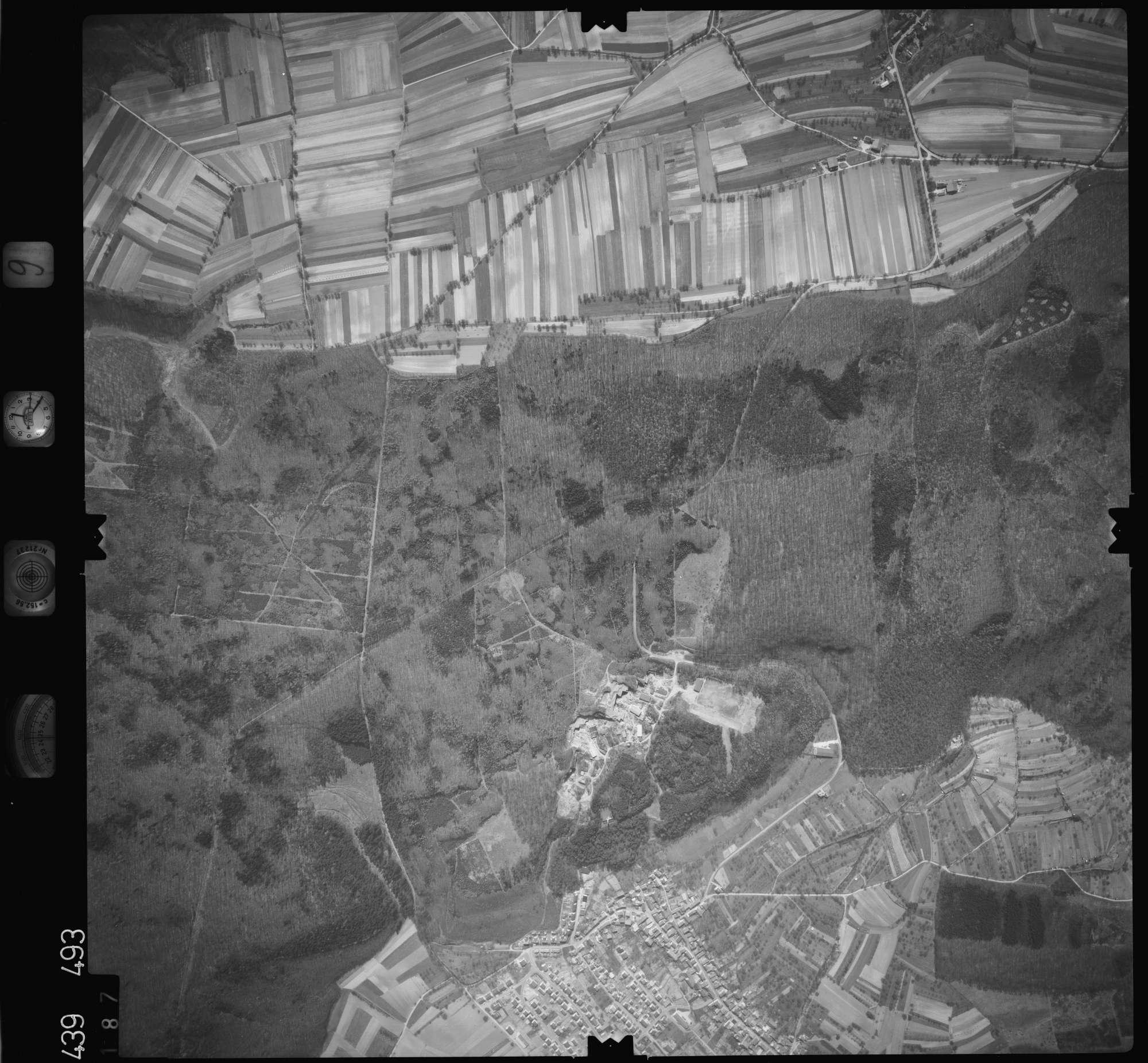 Luftbild: Film 9 Bildnr. 187, Bild 1