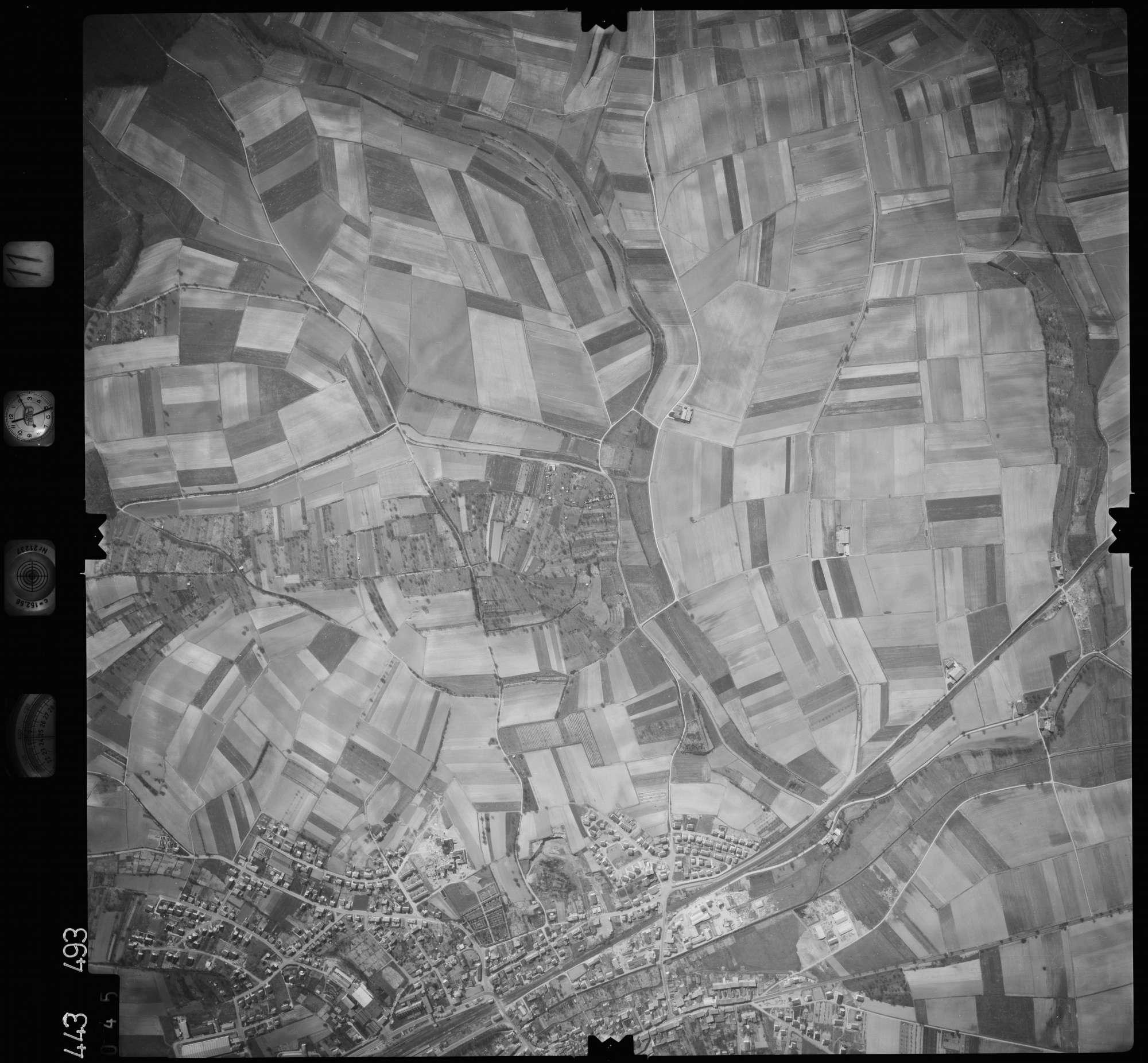 Luftbild: Film 11 Bildnr. 45, Bild 1