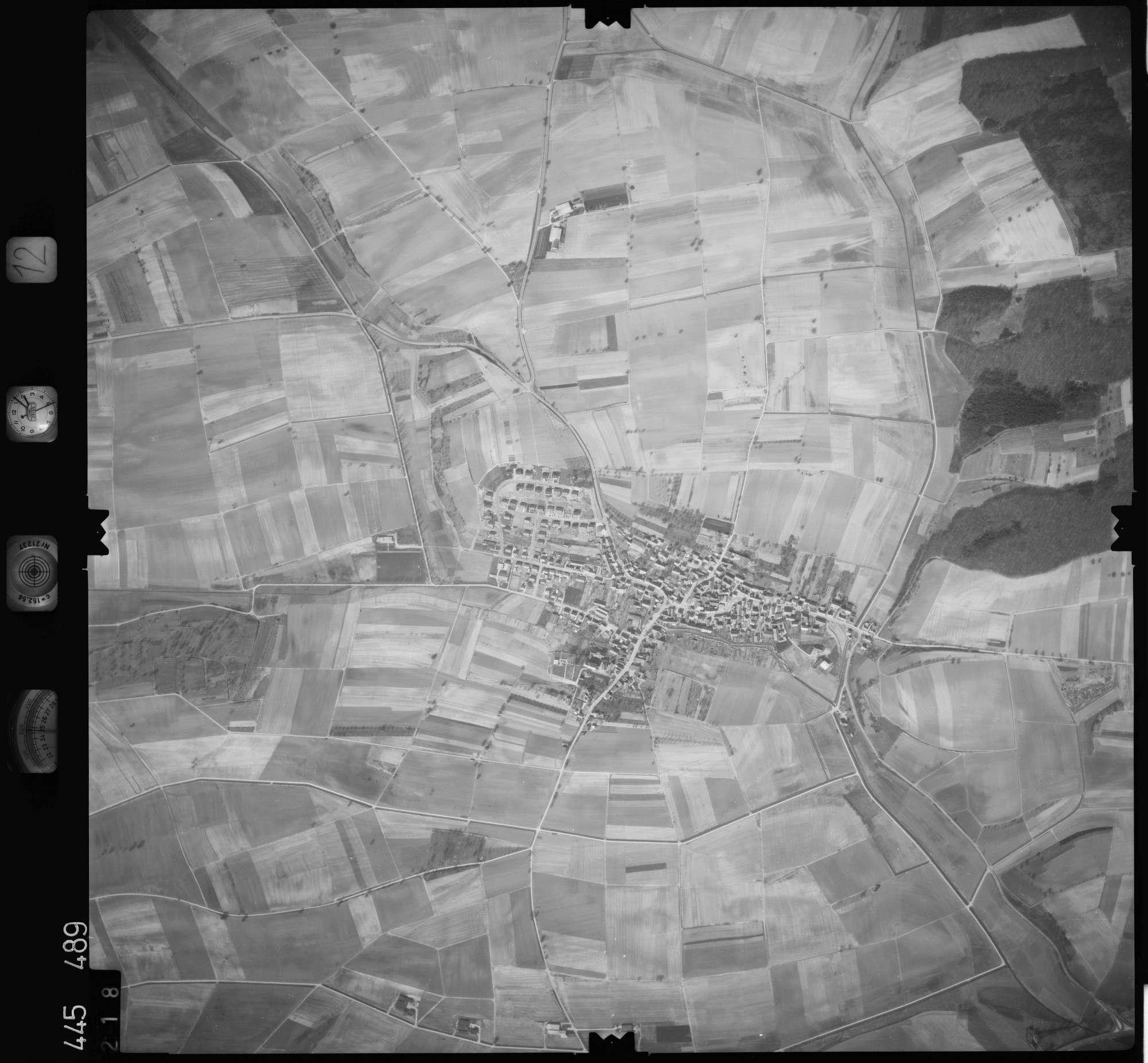Luftbild: Film 12 Bildnr. 218, Bild 1