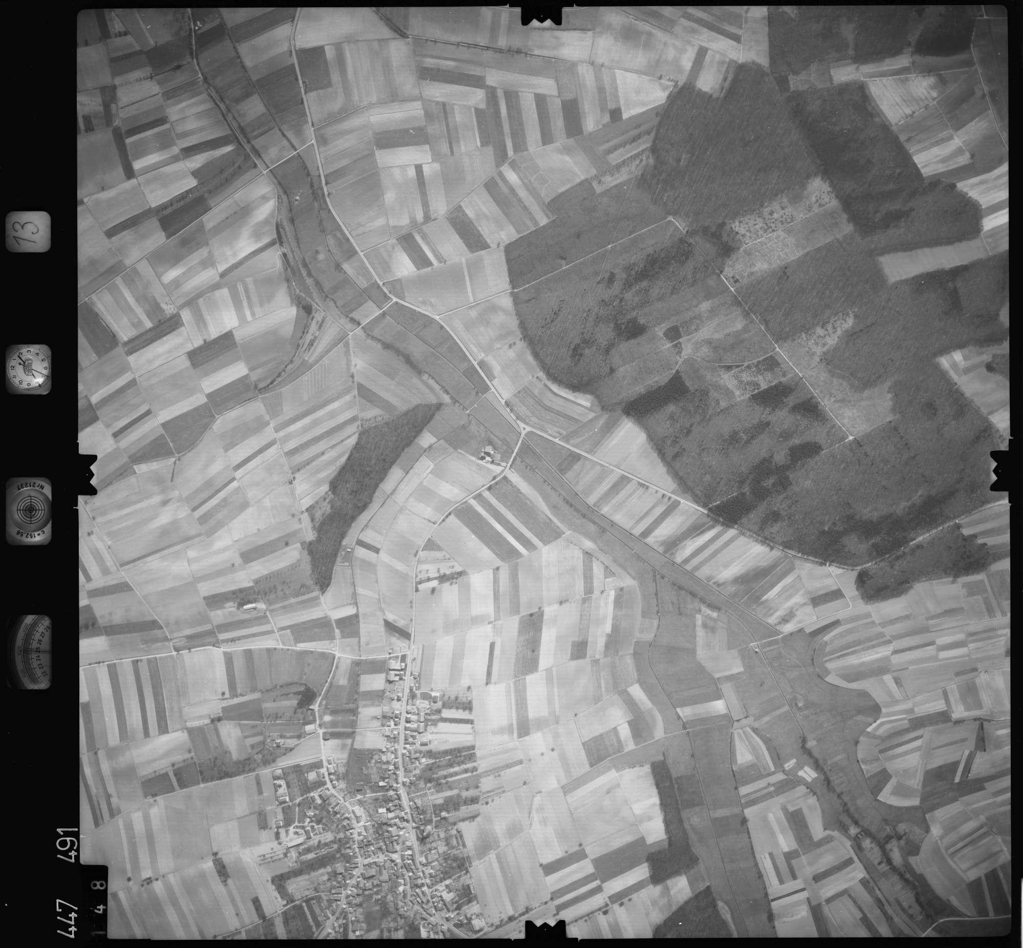 Luftbild: Film 13 Bildnr. 148, Bild 1