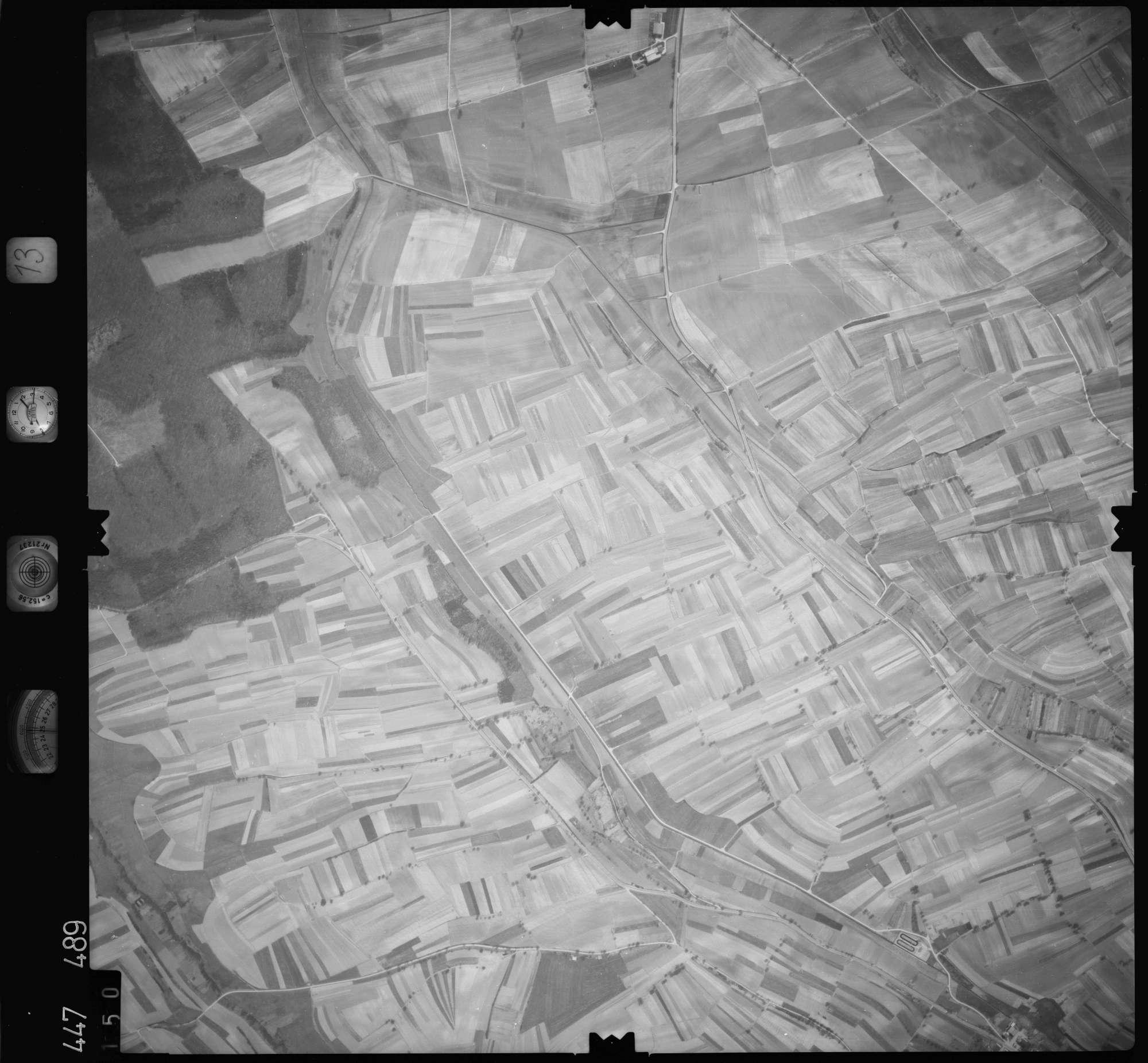 Luftbild: Film 13 Bildnr. 150, Bild 1
