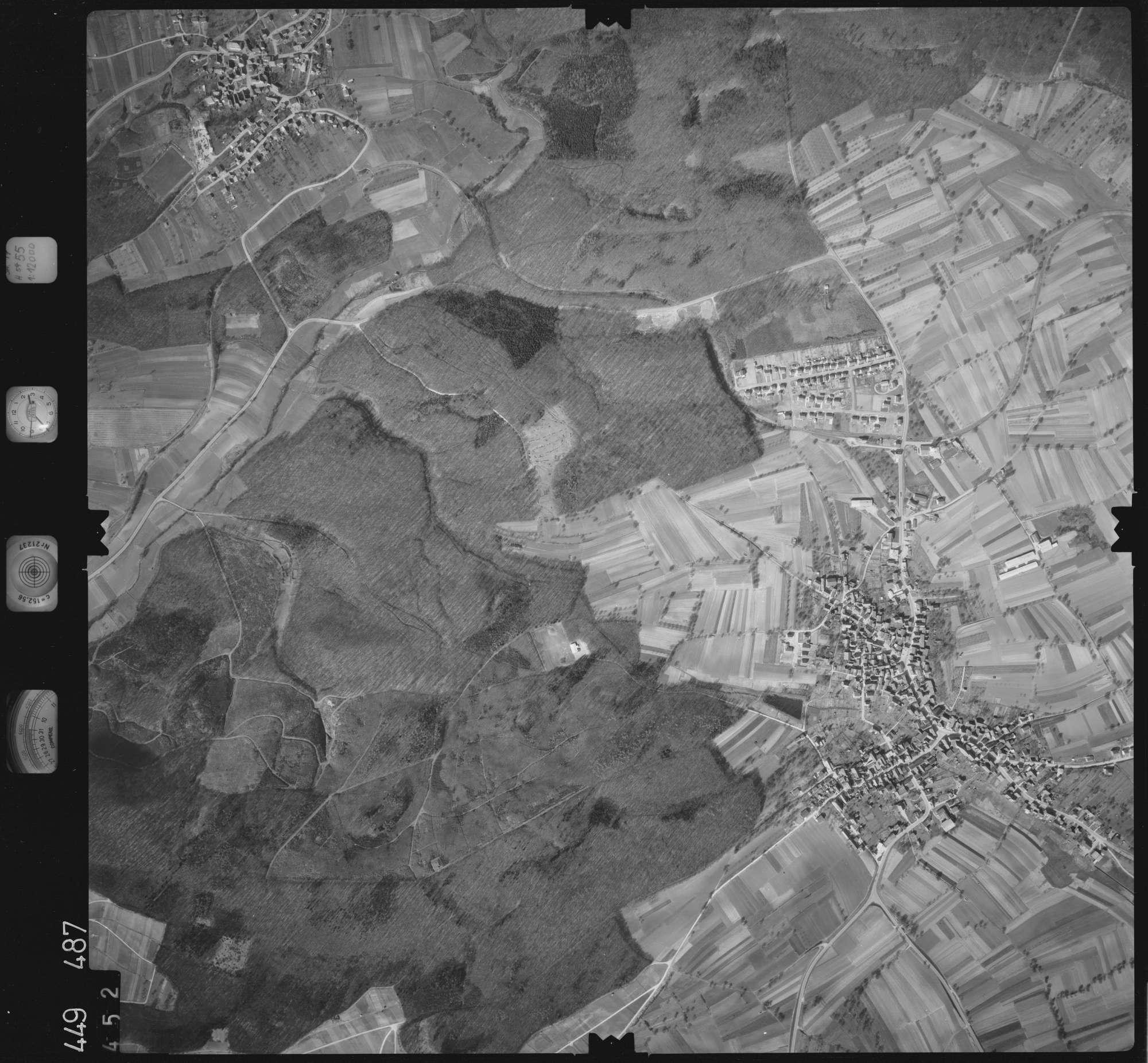 Luftbild: Film 14 Bildnr. 452, Bild 1