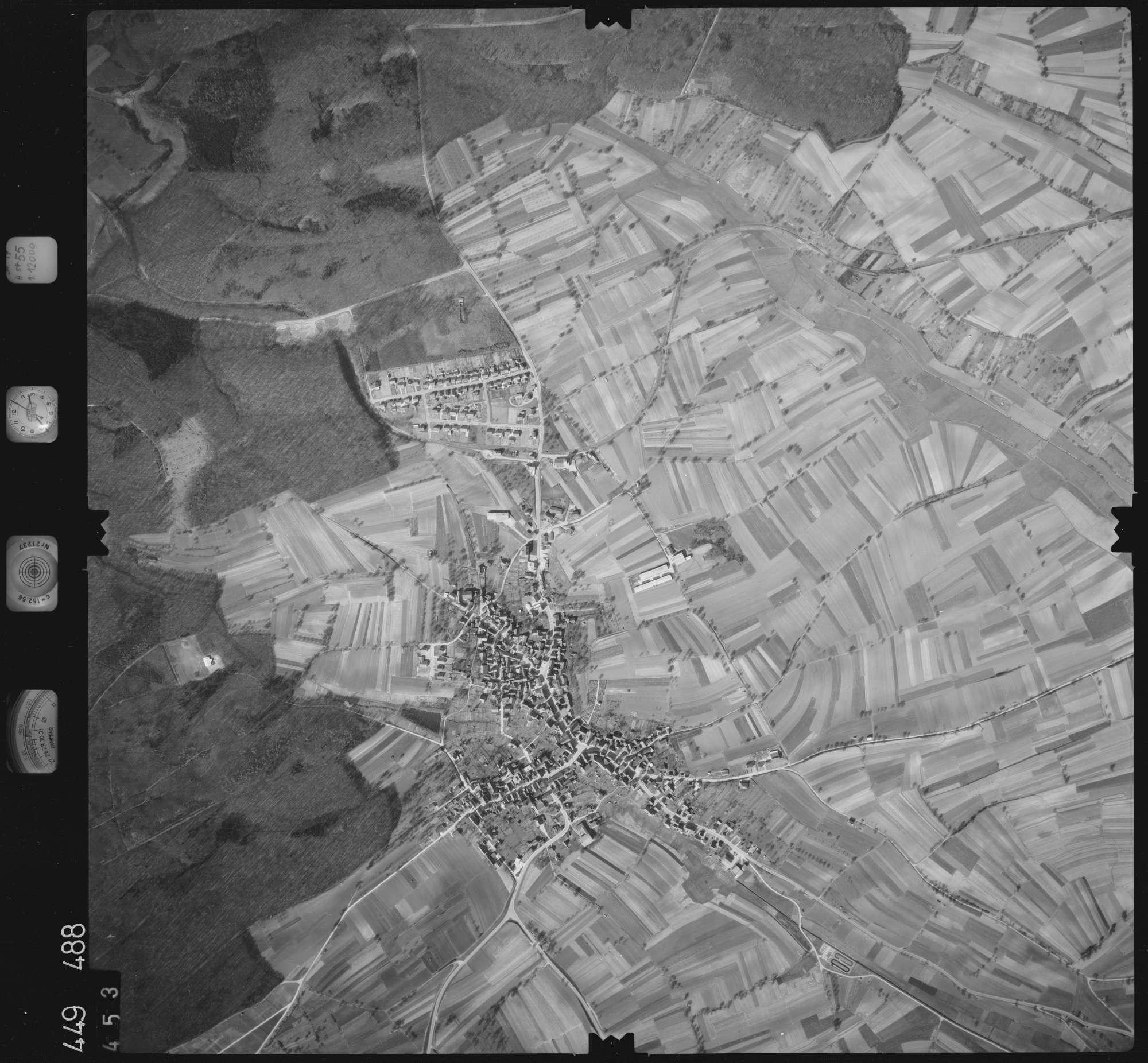 Luftbild: Film 14 Bildnr. 453, Bild 1