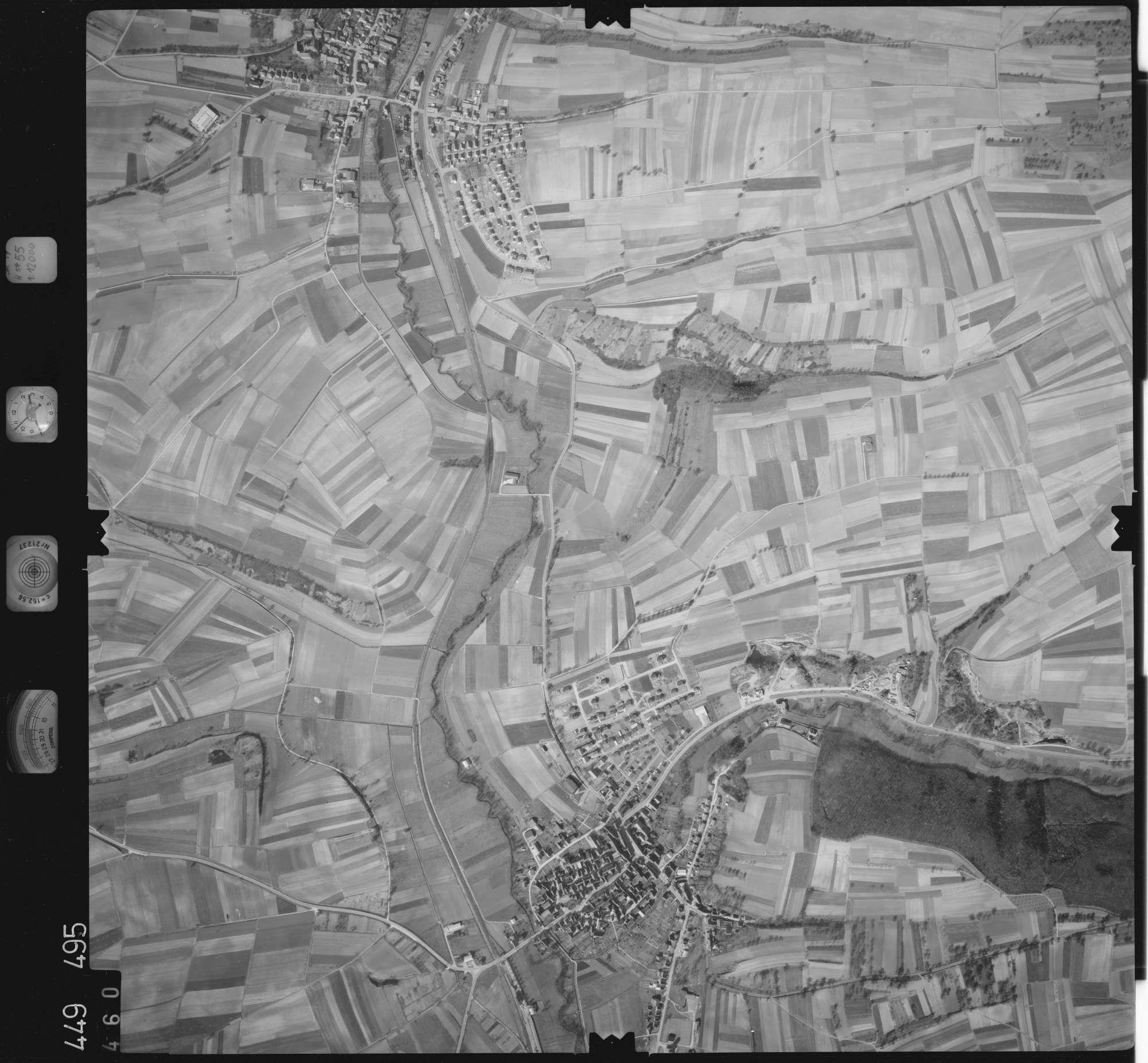 Luftbild: Film 14 Bildnr. 460, Bild 1