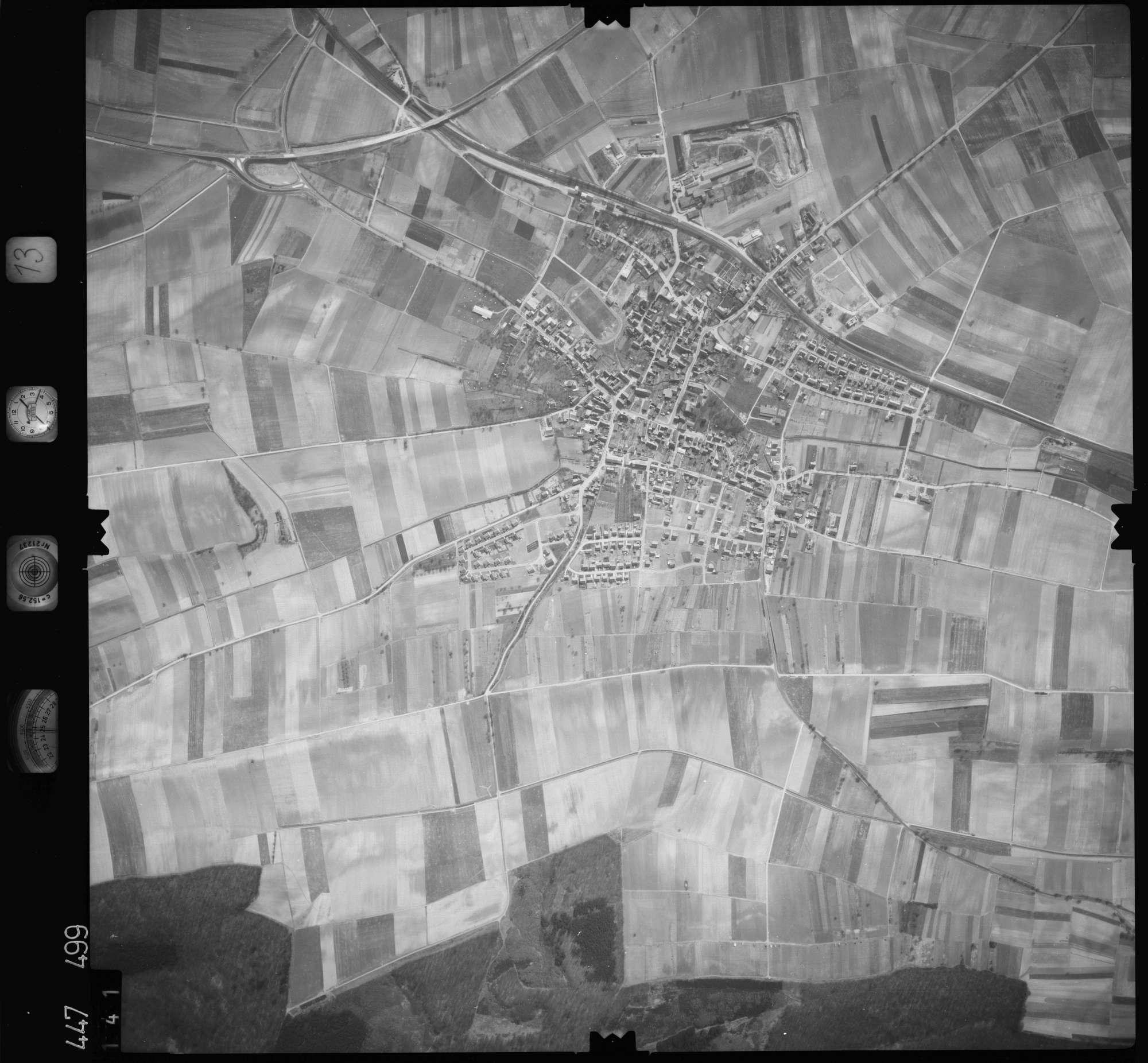 Luftbild: Film 13 Bildnr. 141, Bild 1
