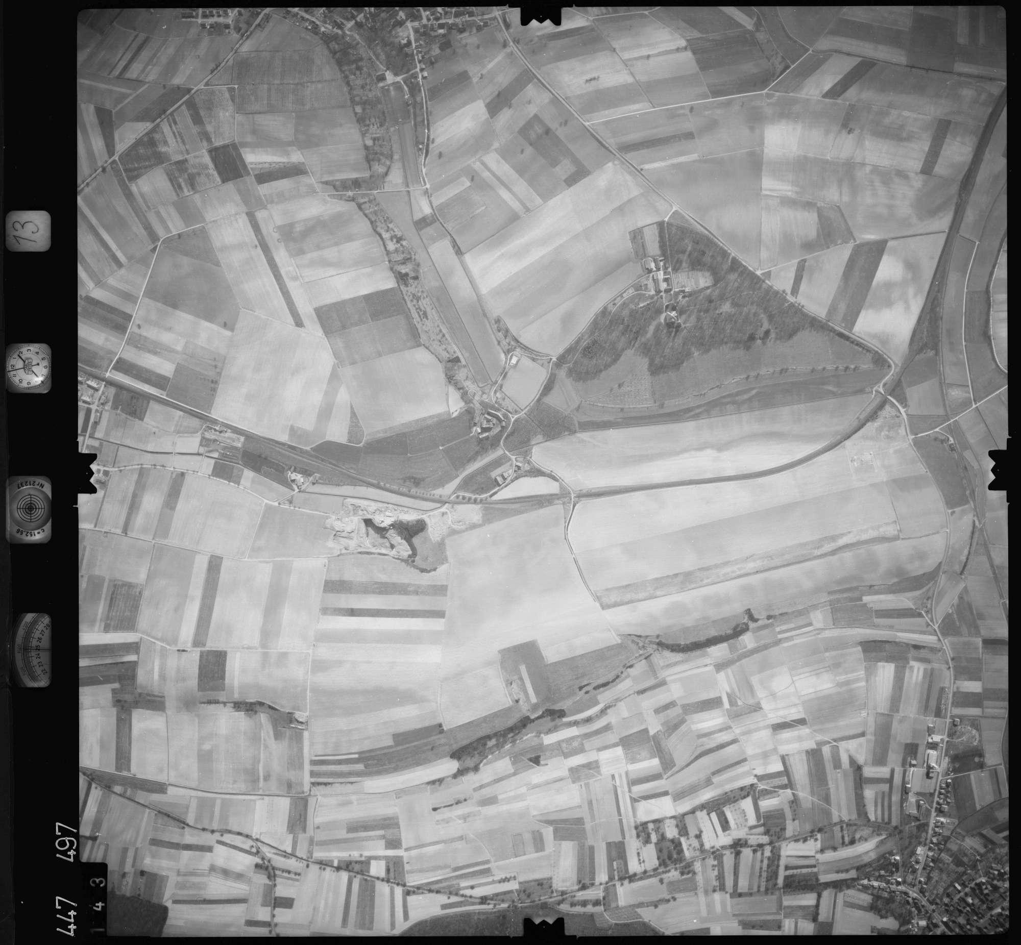 Luftbild: Film 13 Bildnr. 143, Bild 1