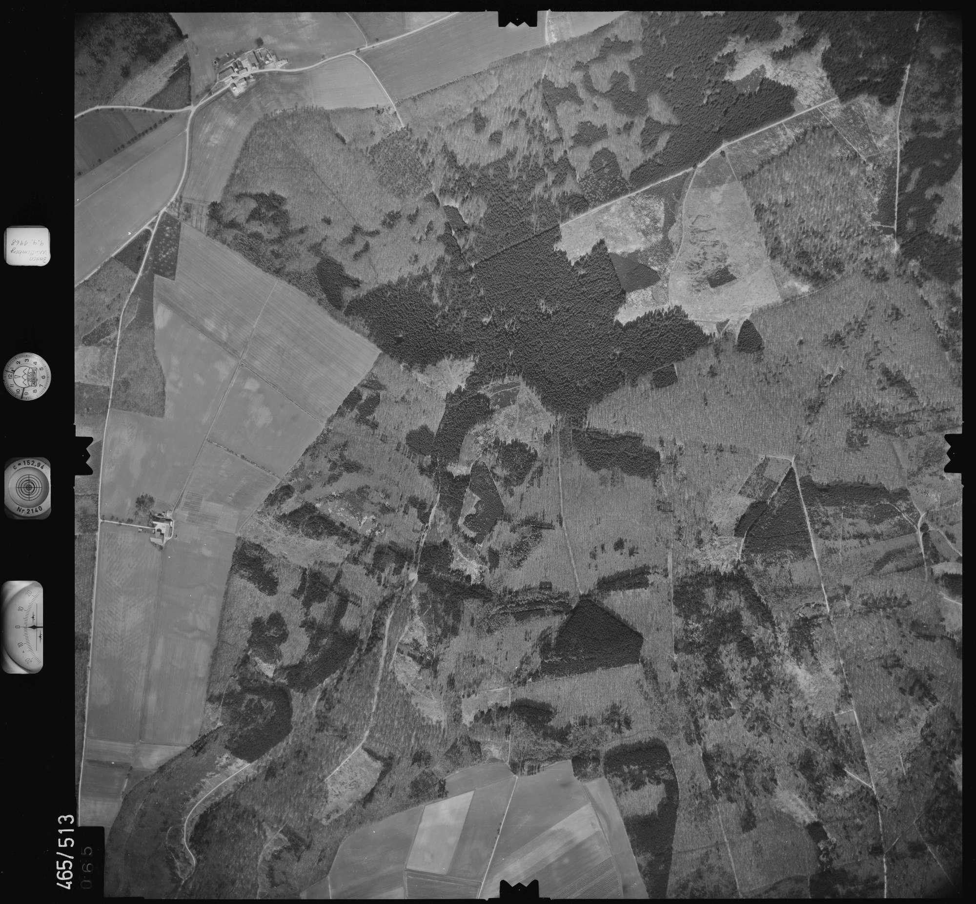 Luftbild: Film 102 Bildnr. 65, Bild 1