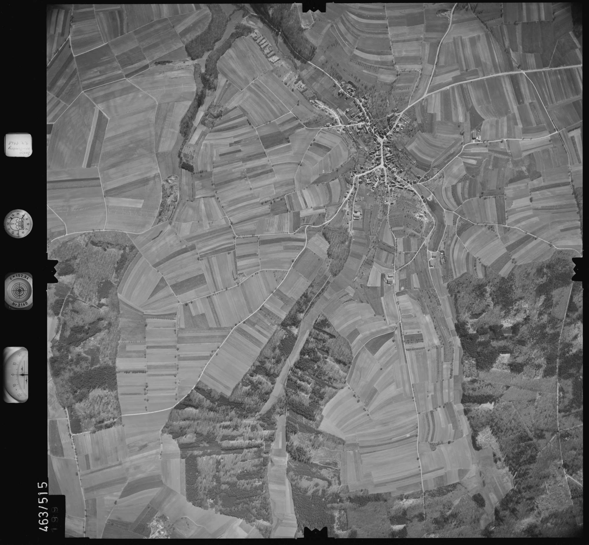 Luftbild: Film 102 Bildnr. 199, Bild 1