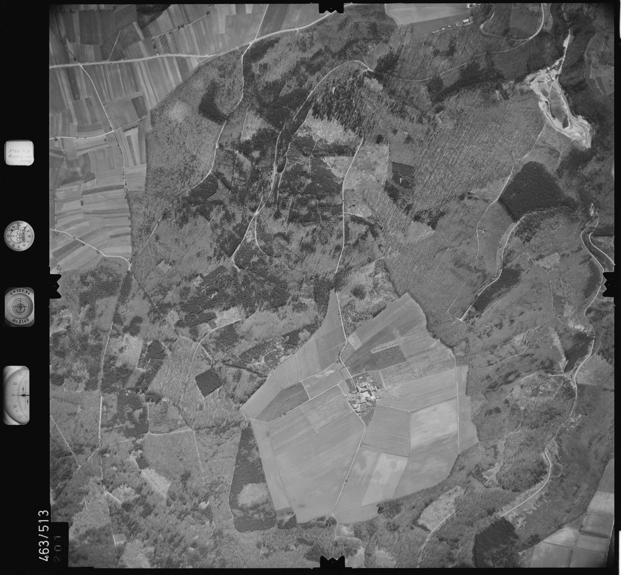 Luftbild: Film 102 Bildnr. 201, Bild 1