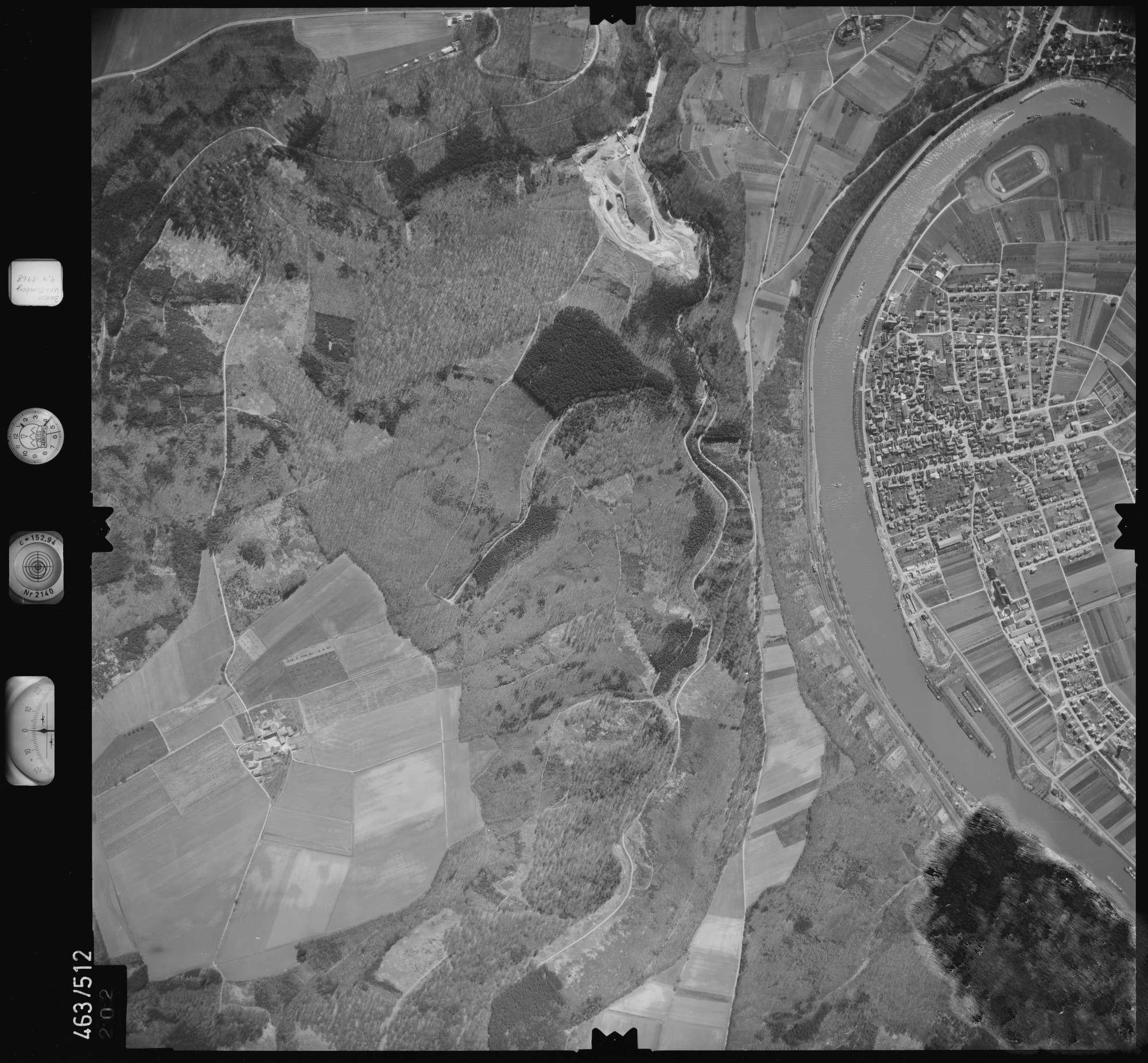 Luftbild: Film 102 Bildnr. 202, Bild 1