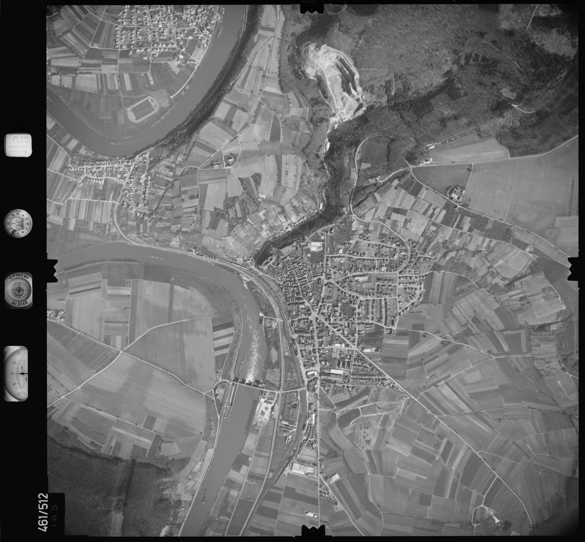 Luftbild: Film 103 Bildnr. 65, Bild 1