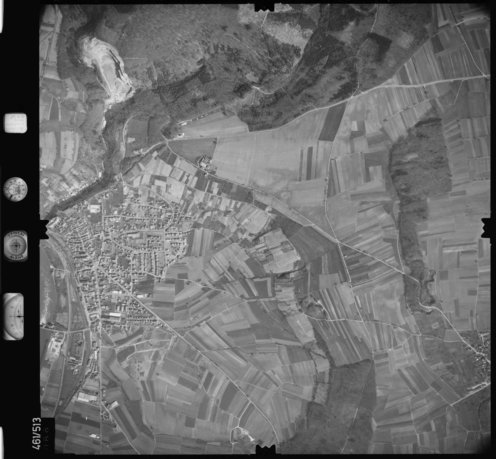 Luftbild: Film 103 Bildnr. 66, Bild 1