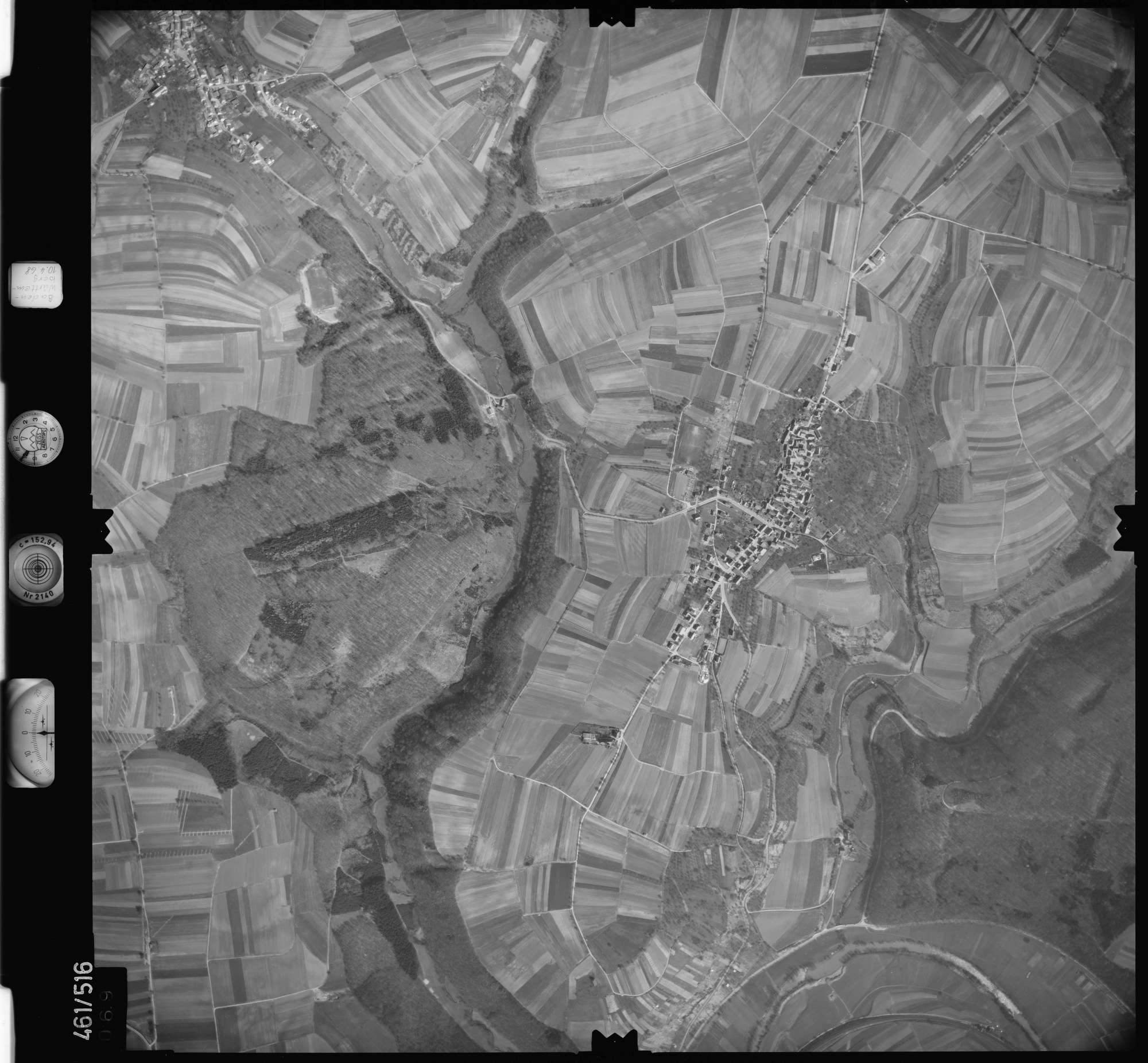 Luftbild: Film 103 Bildnr. 69, Bild 1
