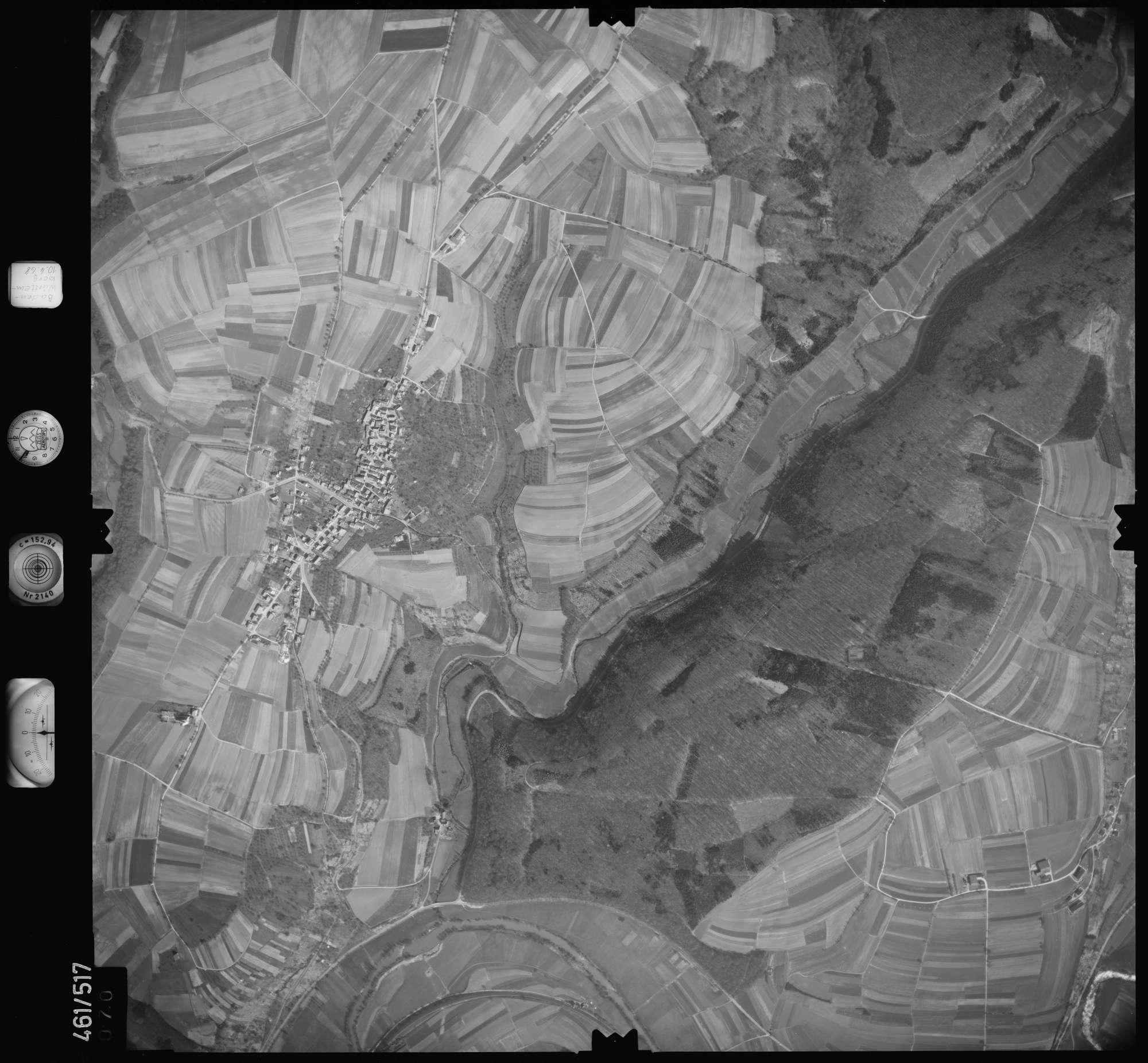 Luftbild: Film 103 Bildnr. 70, Bild 1