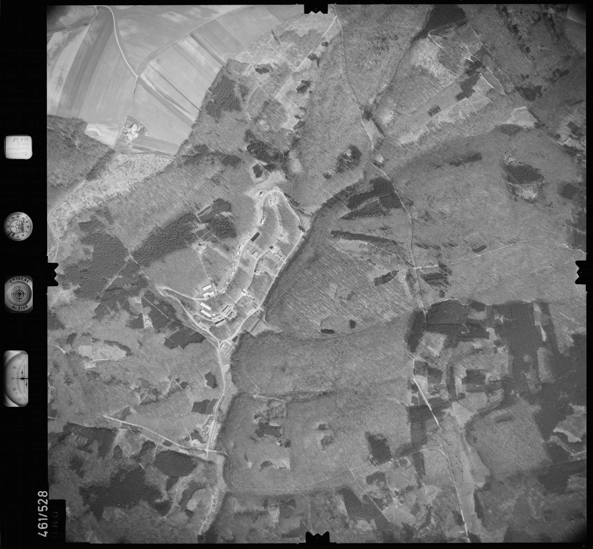 Luftbild: Film 103 Bildnr. 80, Bild 1