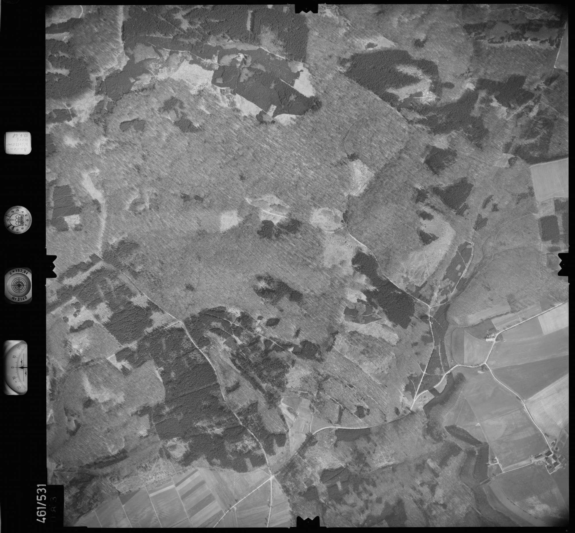 Luftbild: Film 103 Bildnr. 83, Bild 1