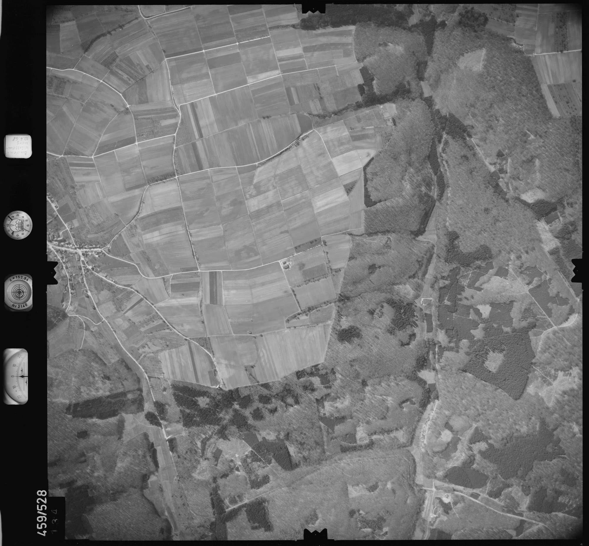 Luftbild: Film 103 Bildnr. 134, Bild 1